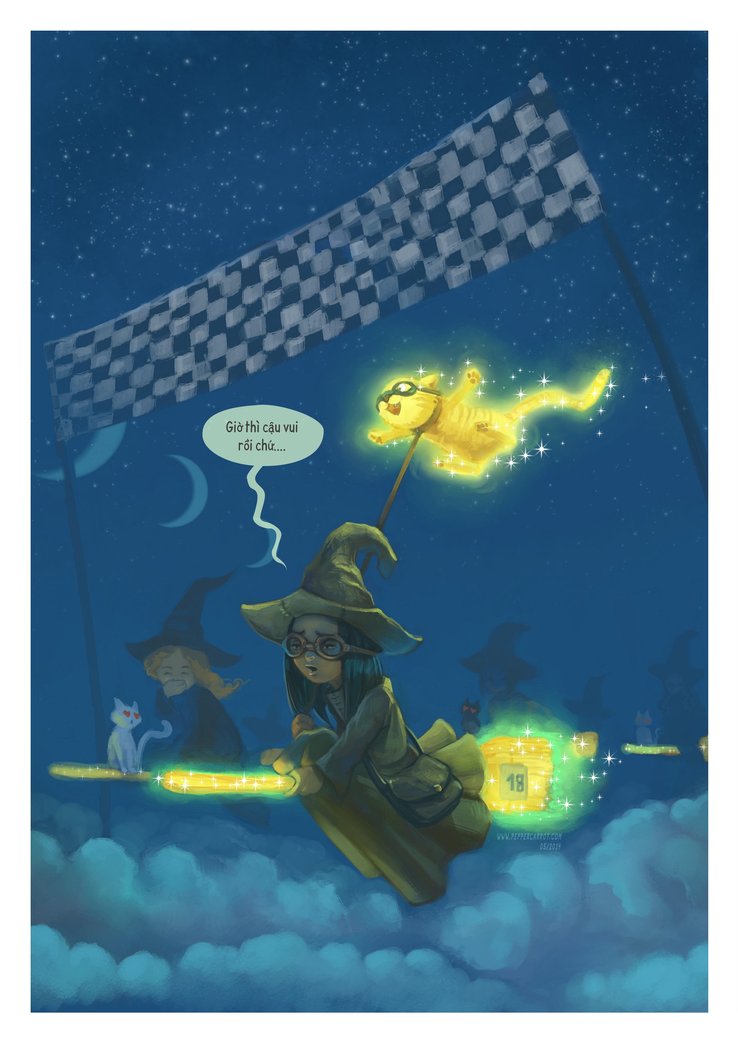 A webcomic page of Pepper&Carrot, Tập 1 [vi], trang 3