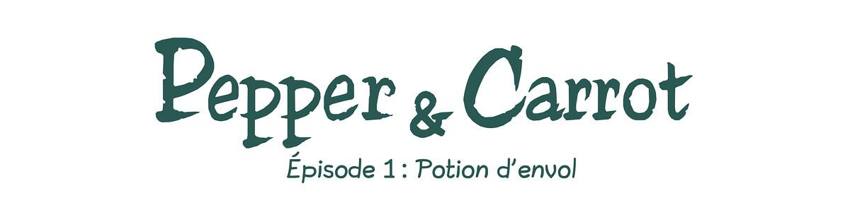 A webcomic page of Pepper&Carrot, épisode 1 [fr], page 0