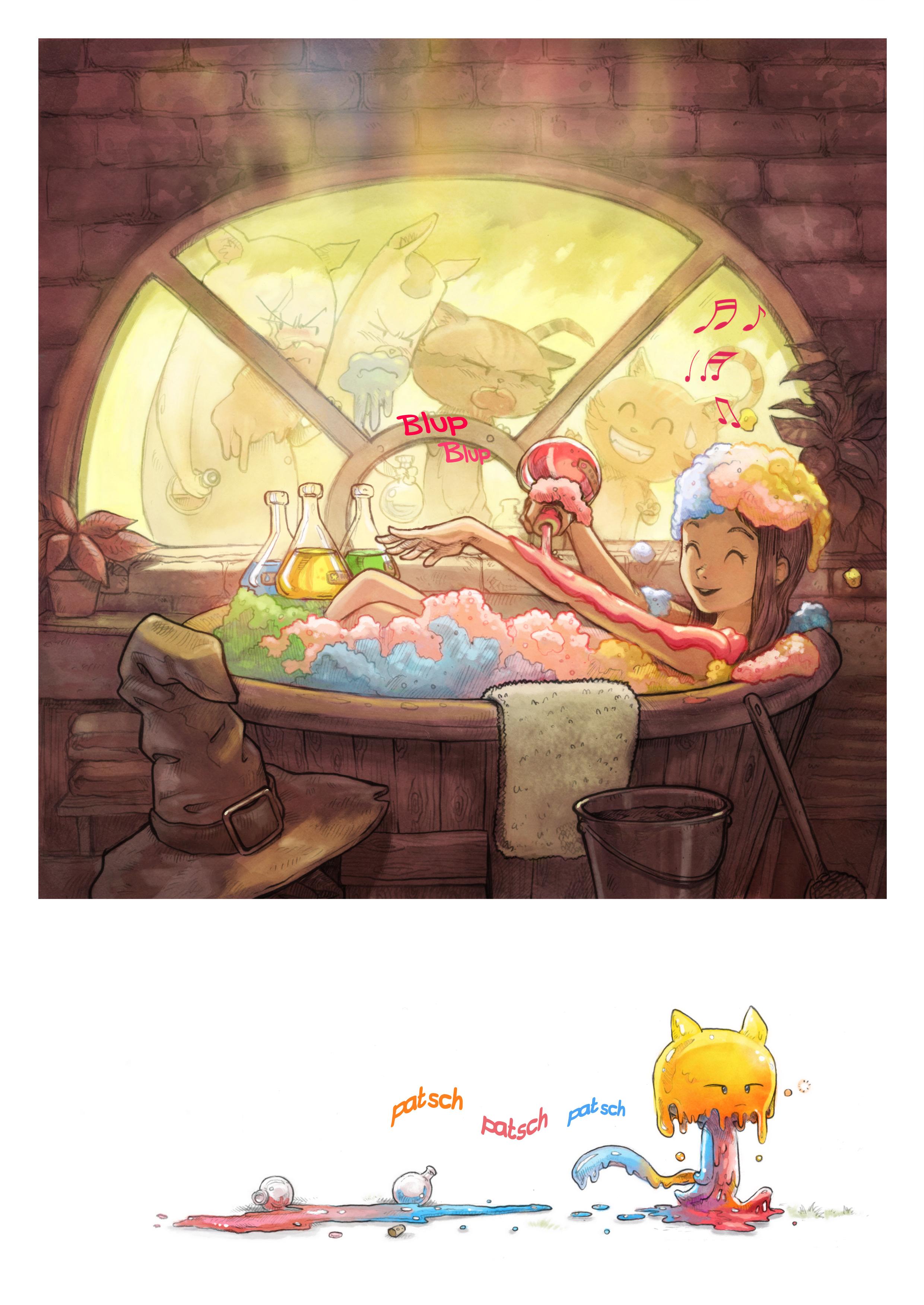 A webcomic page of Pepper&Carrot, Episode 2 [de], Seite 5