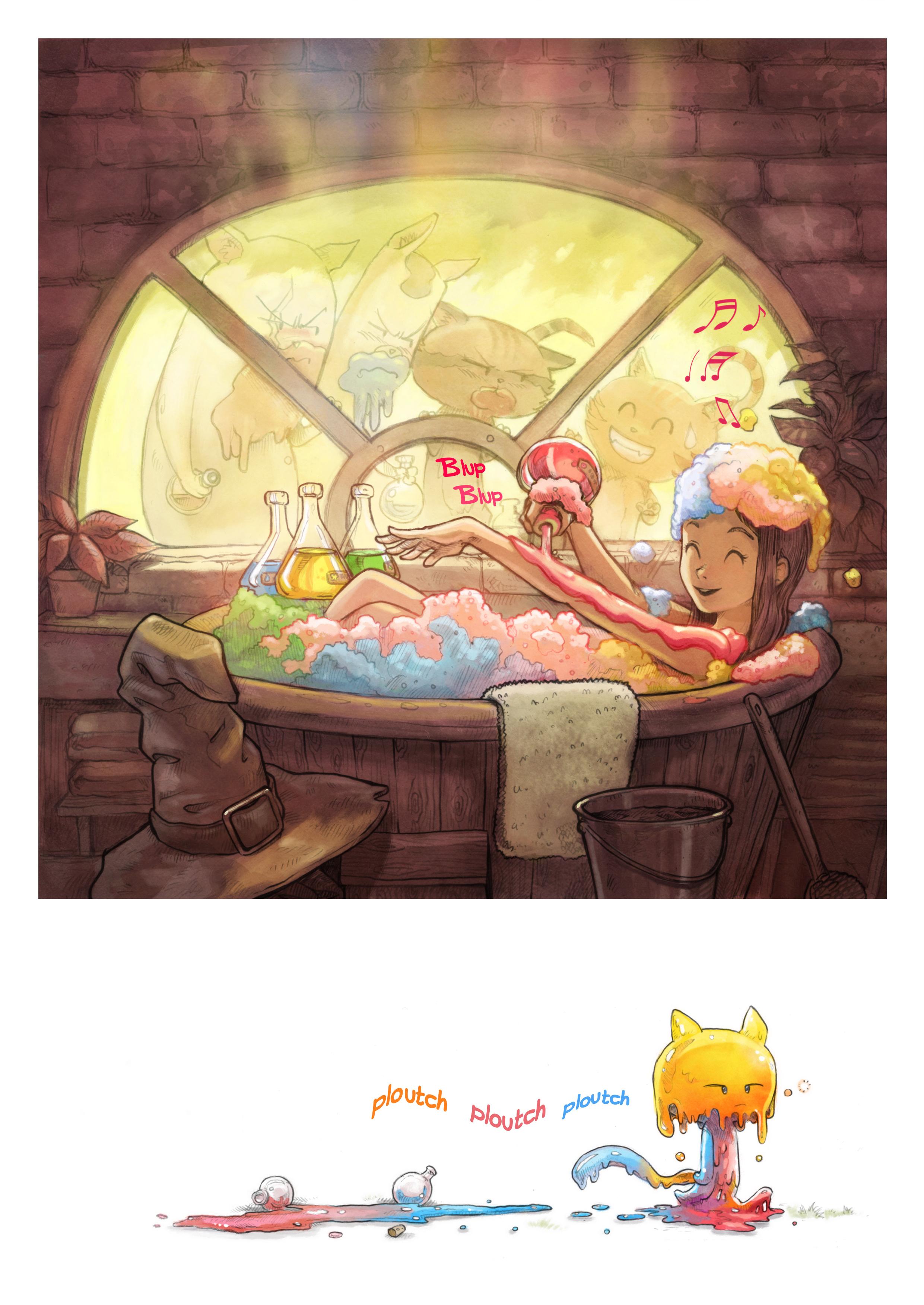 A webcomic page of Pepper&Carrot, épisode 2 [fr], page 5