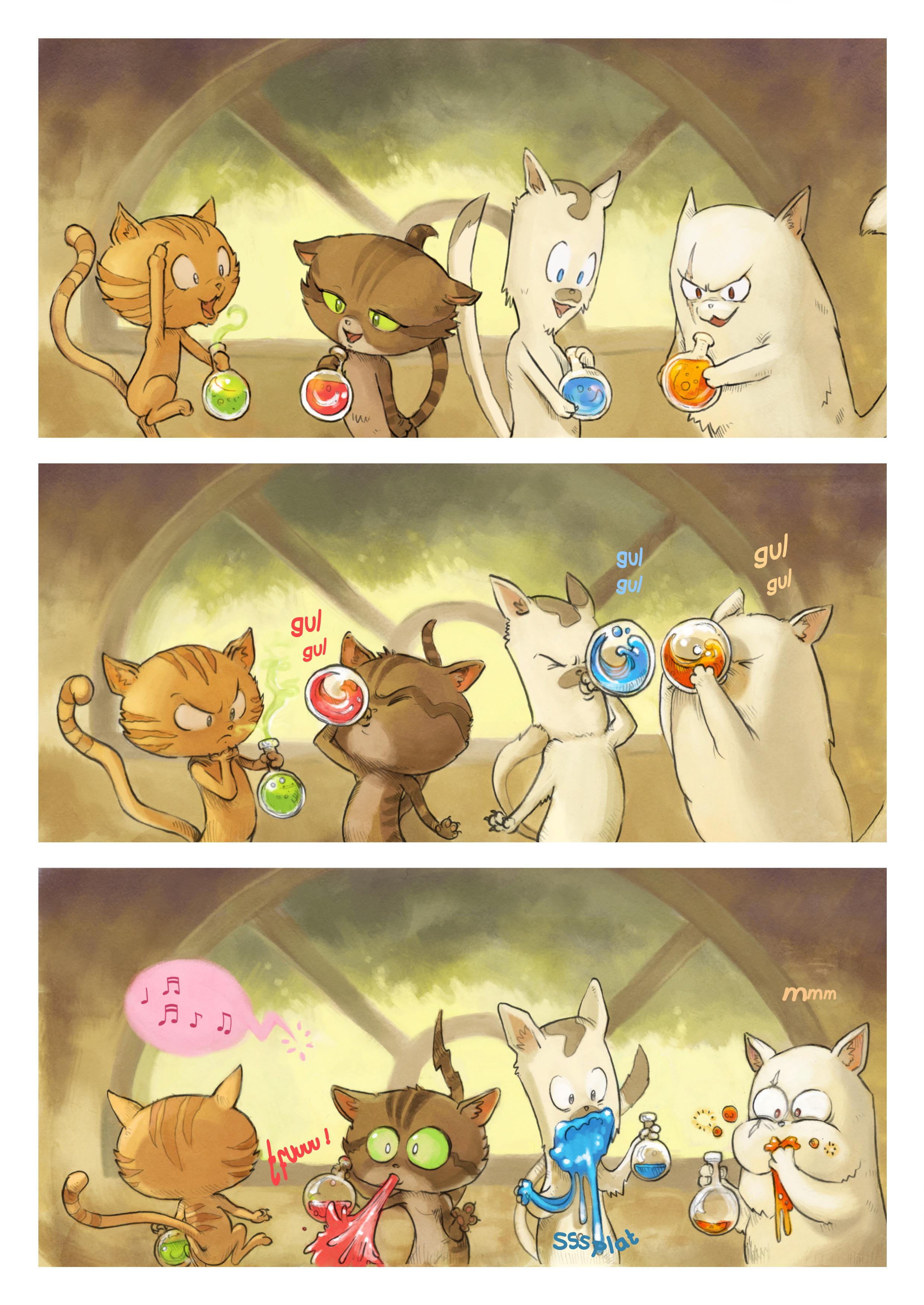 A webcomic page of Pepper&Carrot, odcinek 2 [pl], strona 4