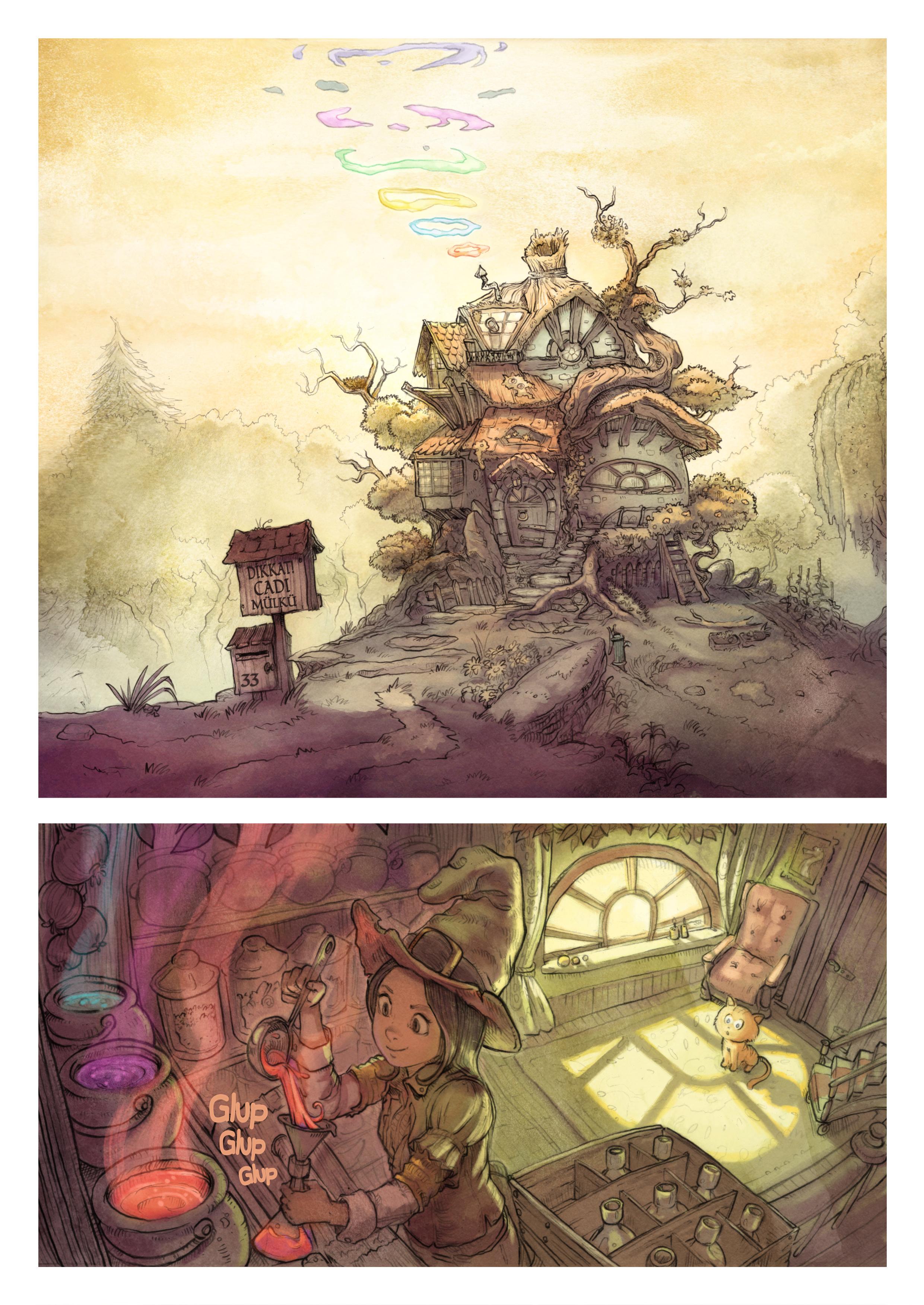2. Bölüm : Gökkuşağı büyüleri, Page 1