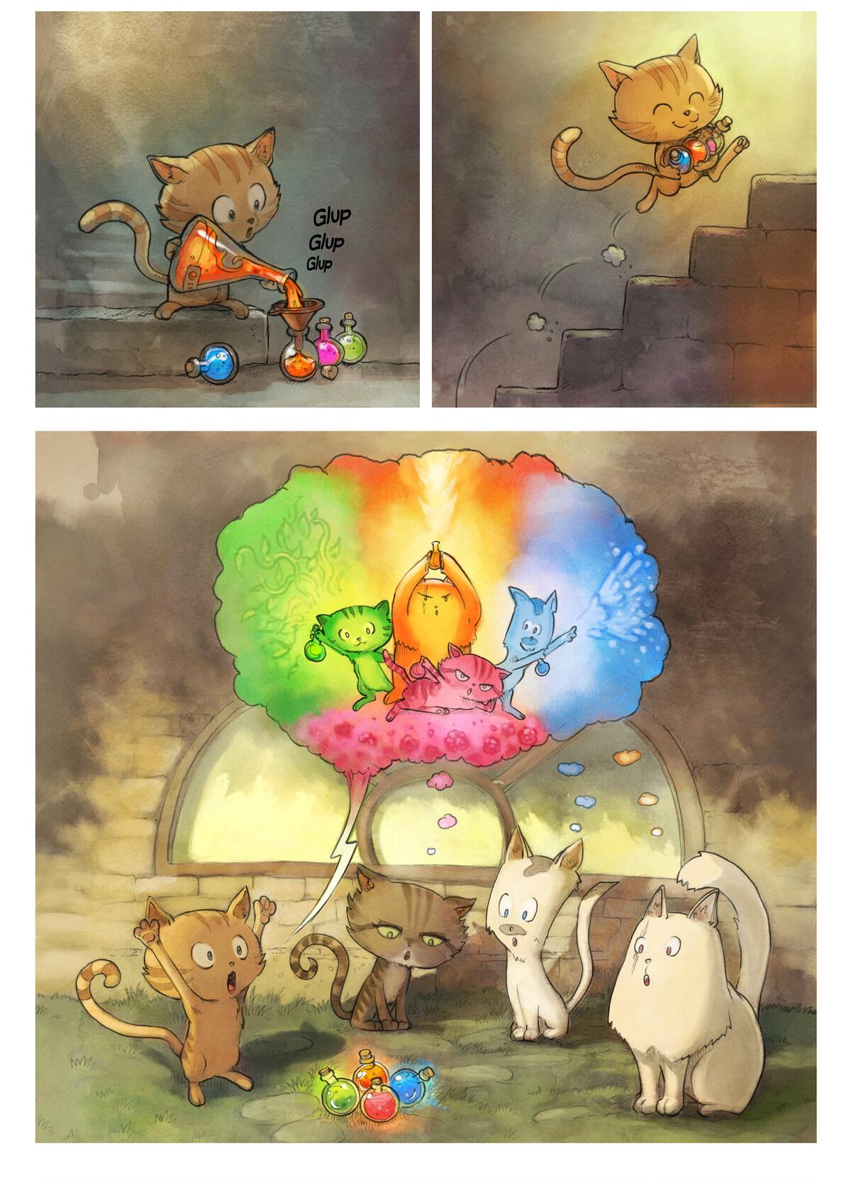 A webcomic page of Pepper&Carrot, episodi 2 [ca], pàgina 3