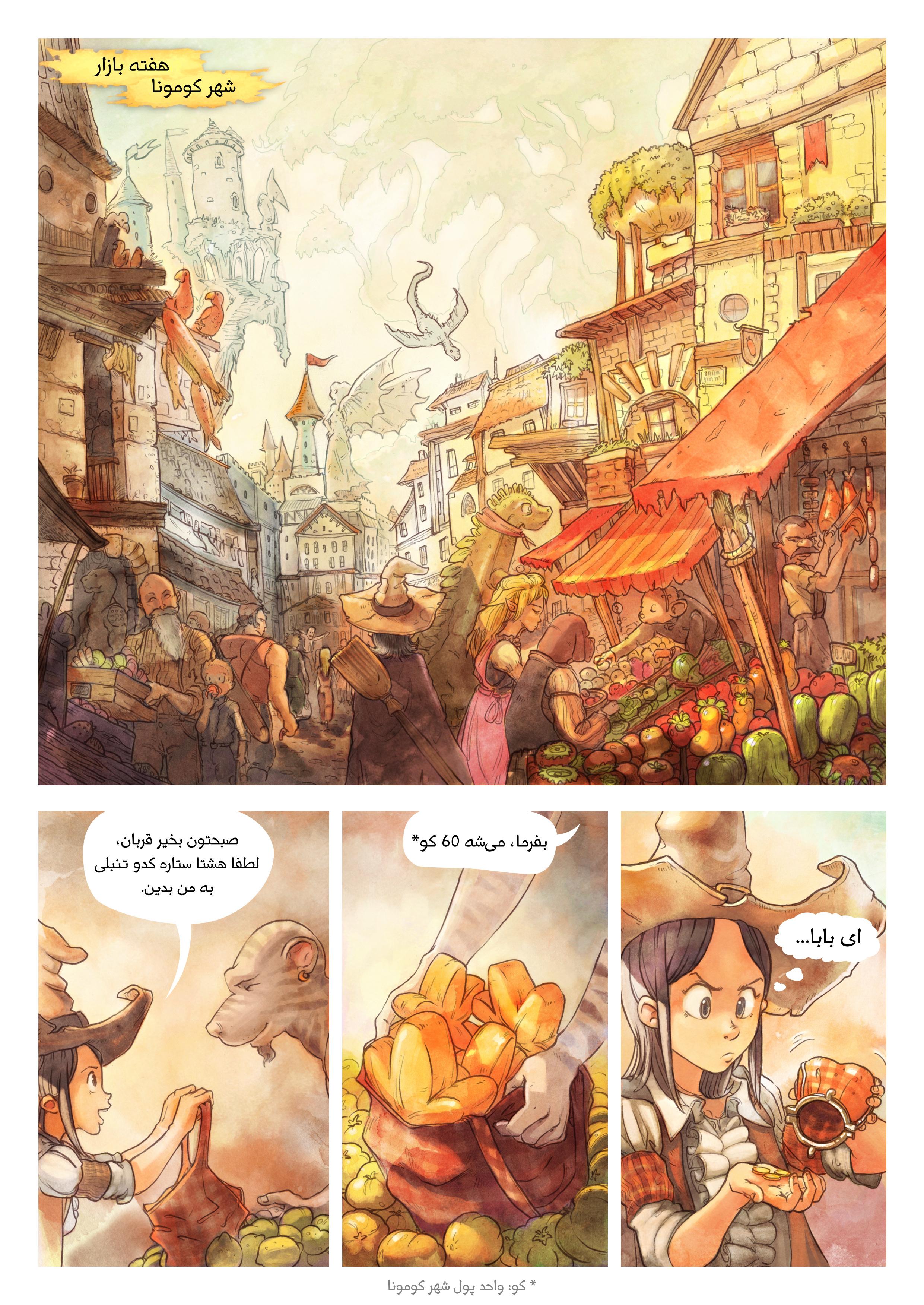 قسمت سوم: مواد اولیه محرمانه, Page 1