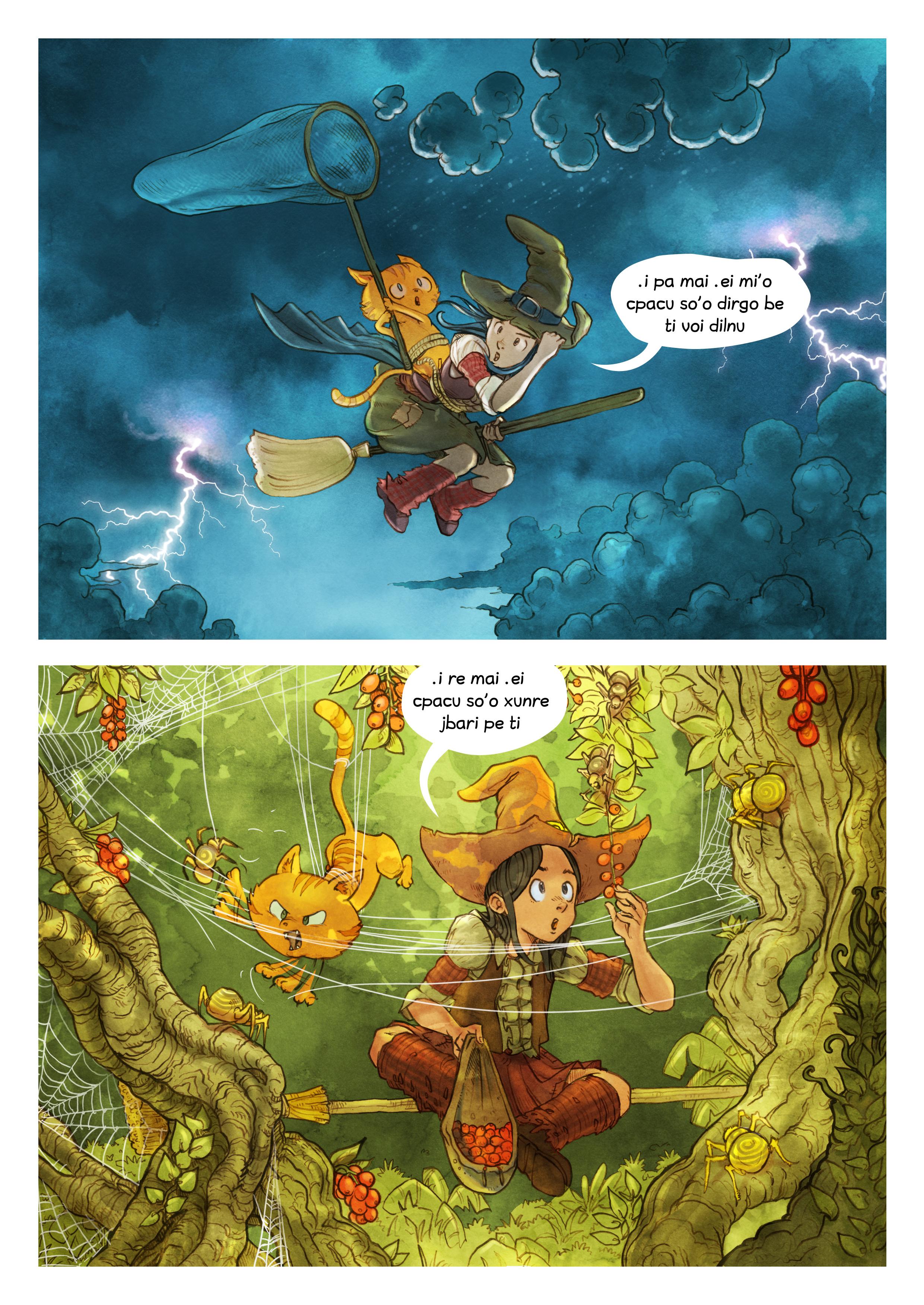 i 3 mo'o lisri le cizra se mixre, Page 5
