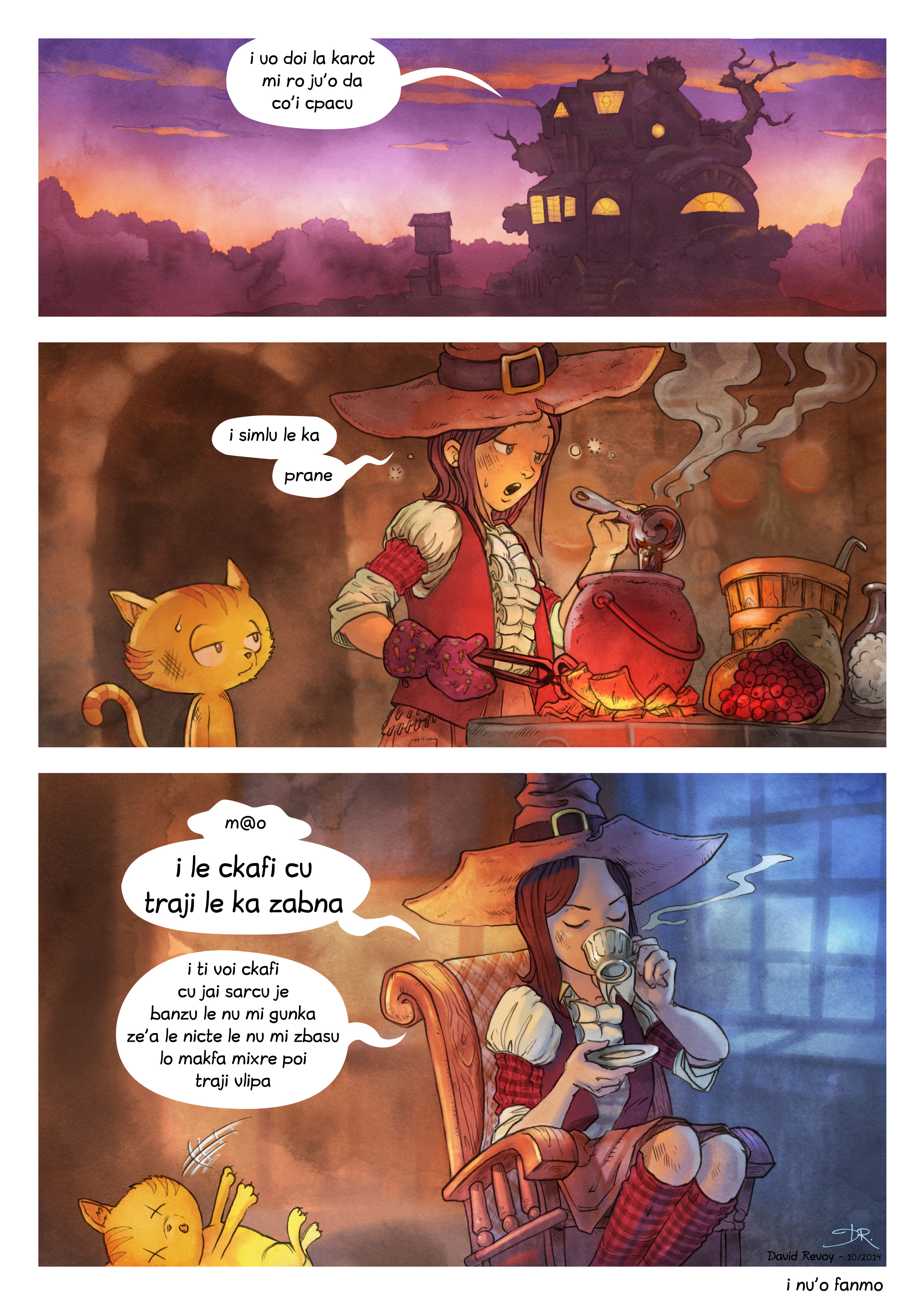 i 3 mo'o lisri le cizra se mixre, Page 7
