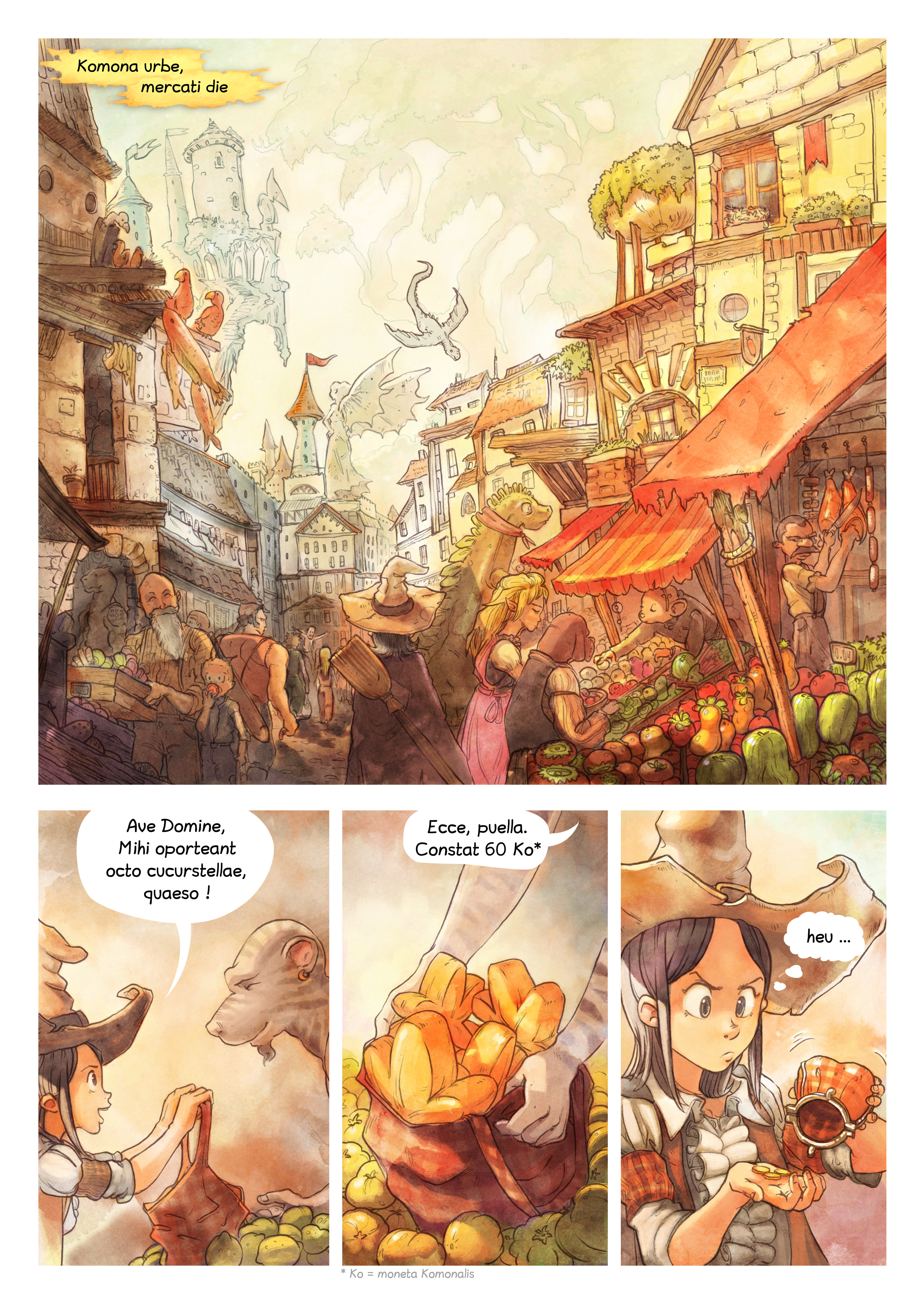 Episodium 3 : Arcana pars potionis, Page 1
