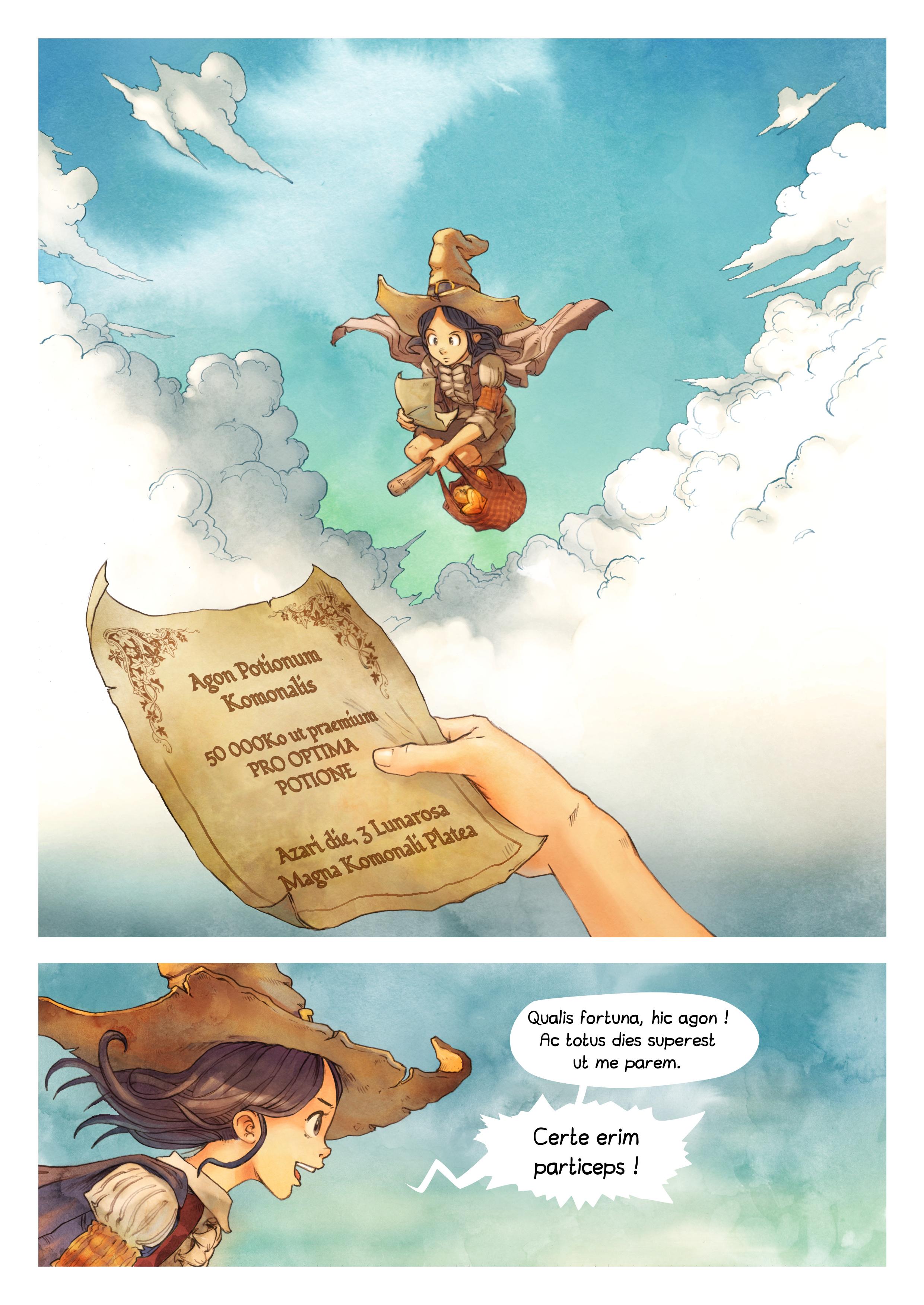 Episodium 3 : Arcana pars potionis, Page 3