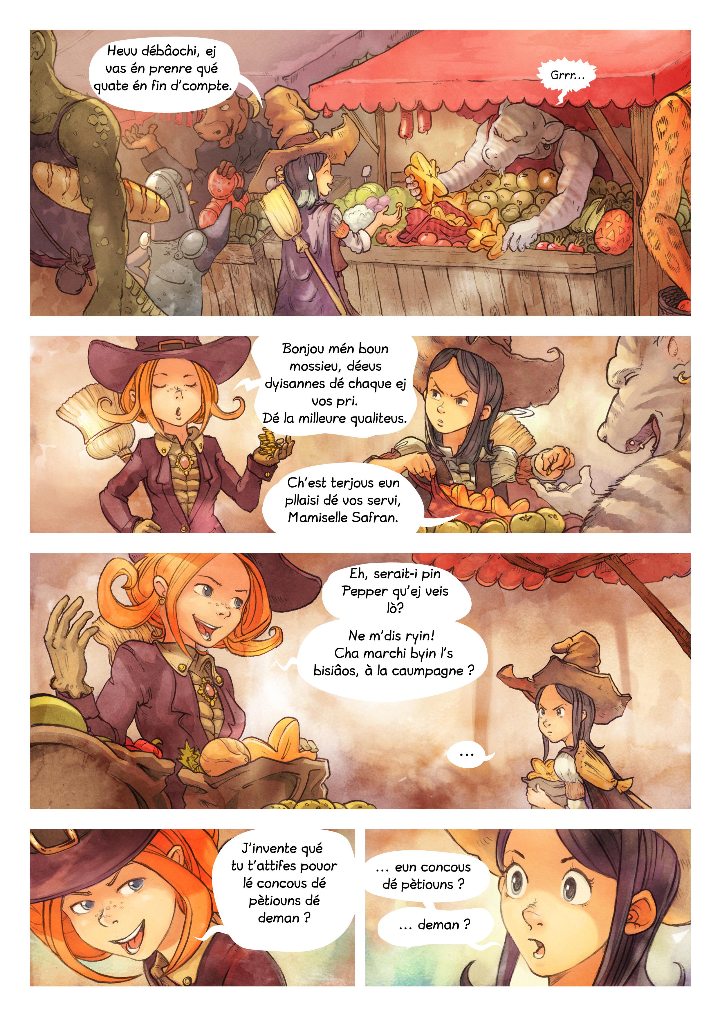 Histouère 3 : L'ingrédient manquiaunt, Page 2