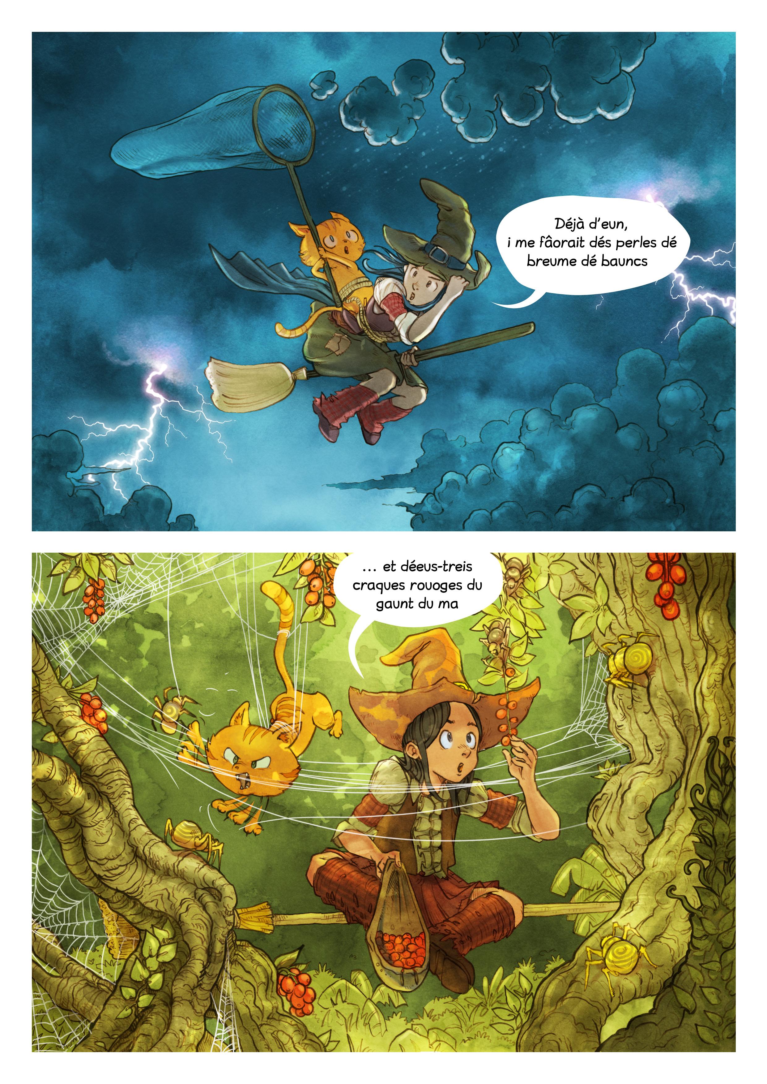 Histouère 3 : L'ingrédient manquiaunt, Page 5