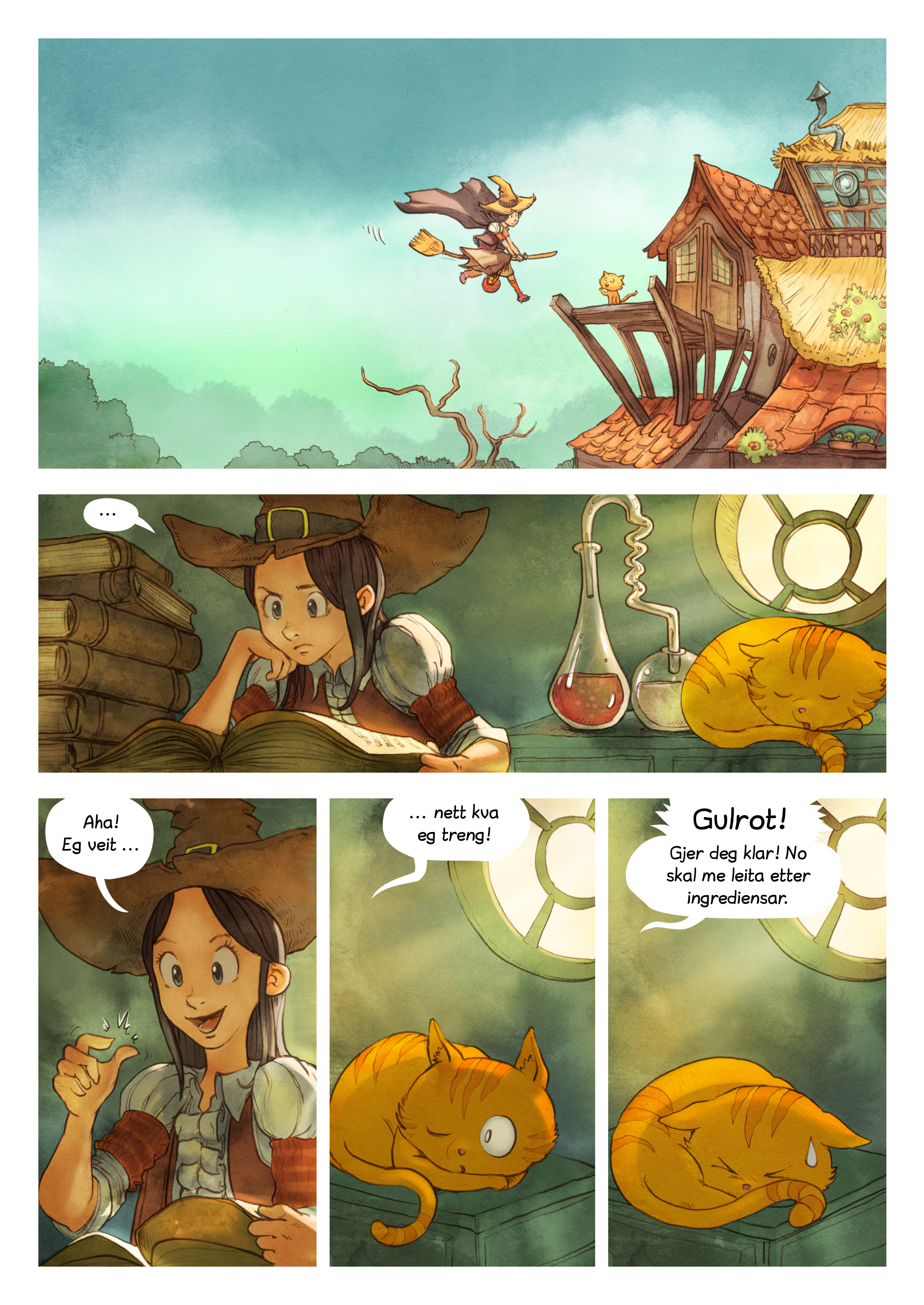 Episode 3: Dei hemmelege ingrediensane, Side 4