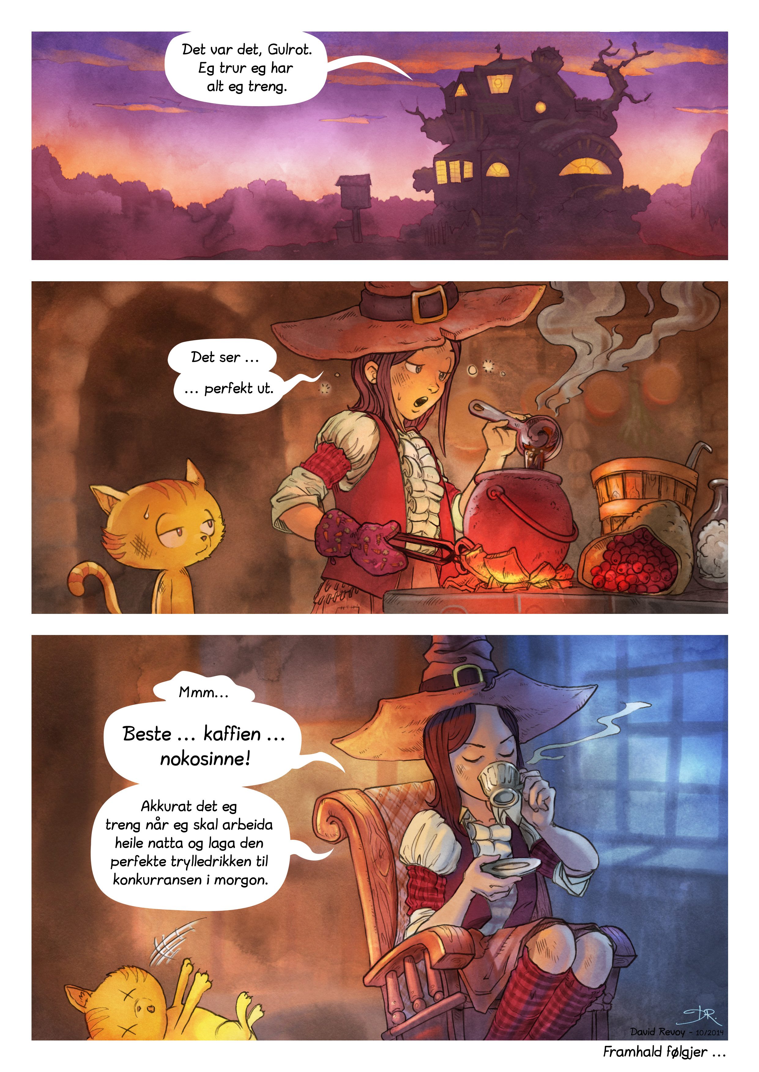 Episode 3: Dei hemmelege ingrediensane, Side 7