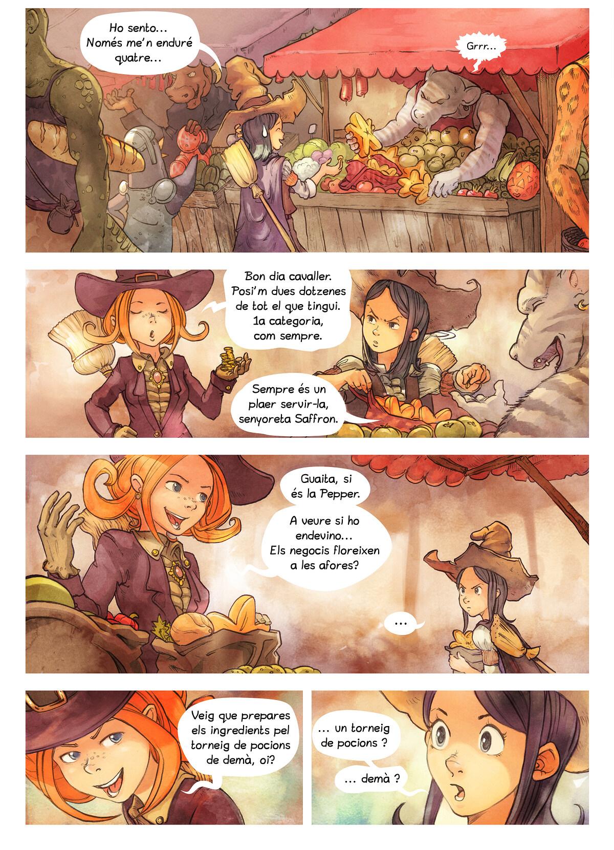 A webcomic page of Pepper&Carrot, episodi 3 [ca], pàgina 2