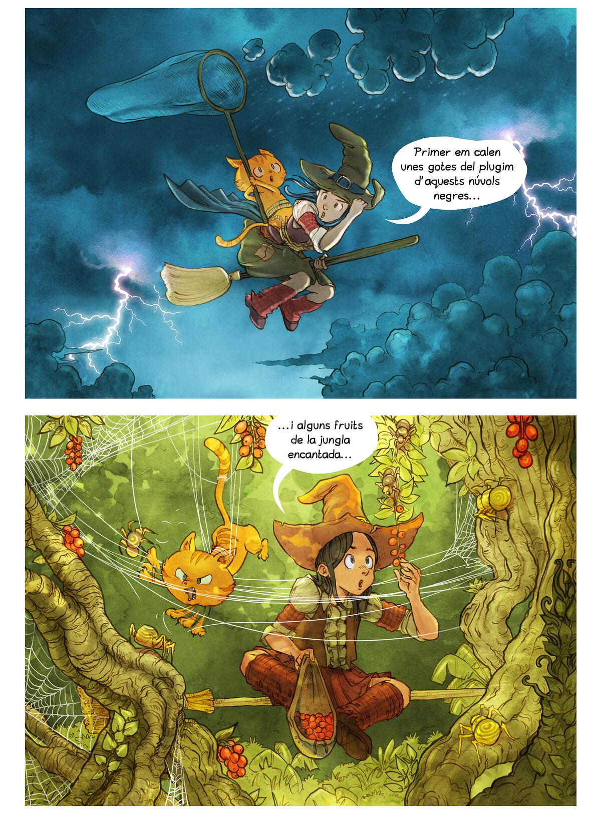 A webcomic page of Pepper&Carrot, episodi 3 [ca], pàgina 5