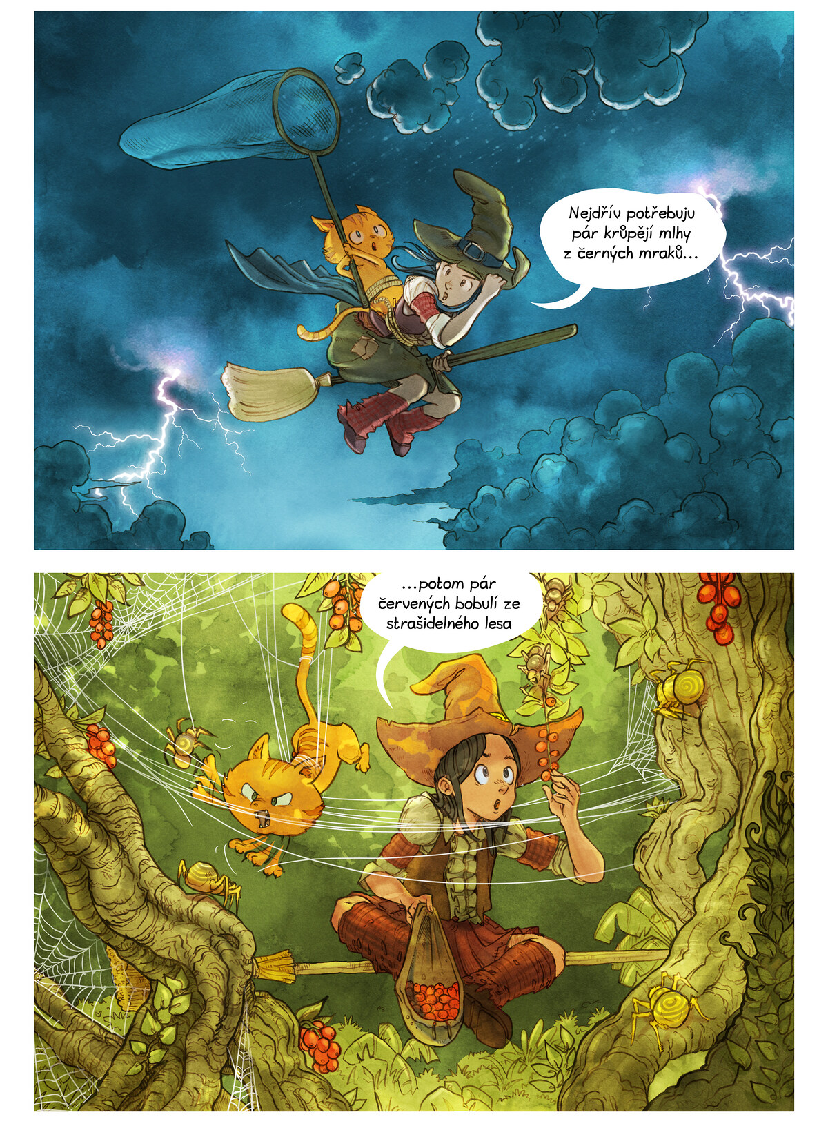 A webcomic page of Pepper&Carrot, epizoda 3 [cs], strana 5