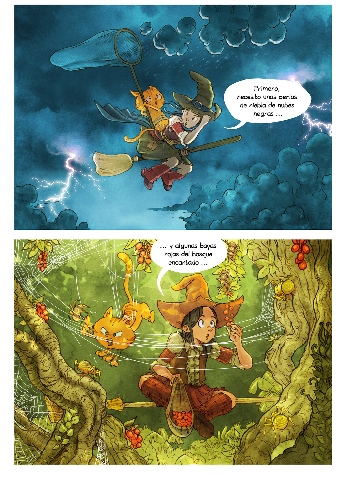 A webcomic page of Pepper&Carrot, episodio 5 , página 5