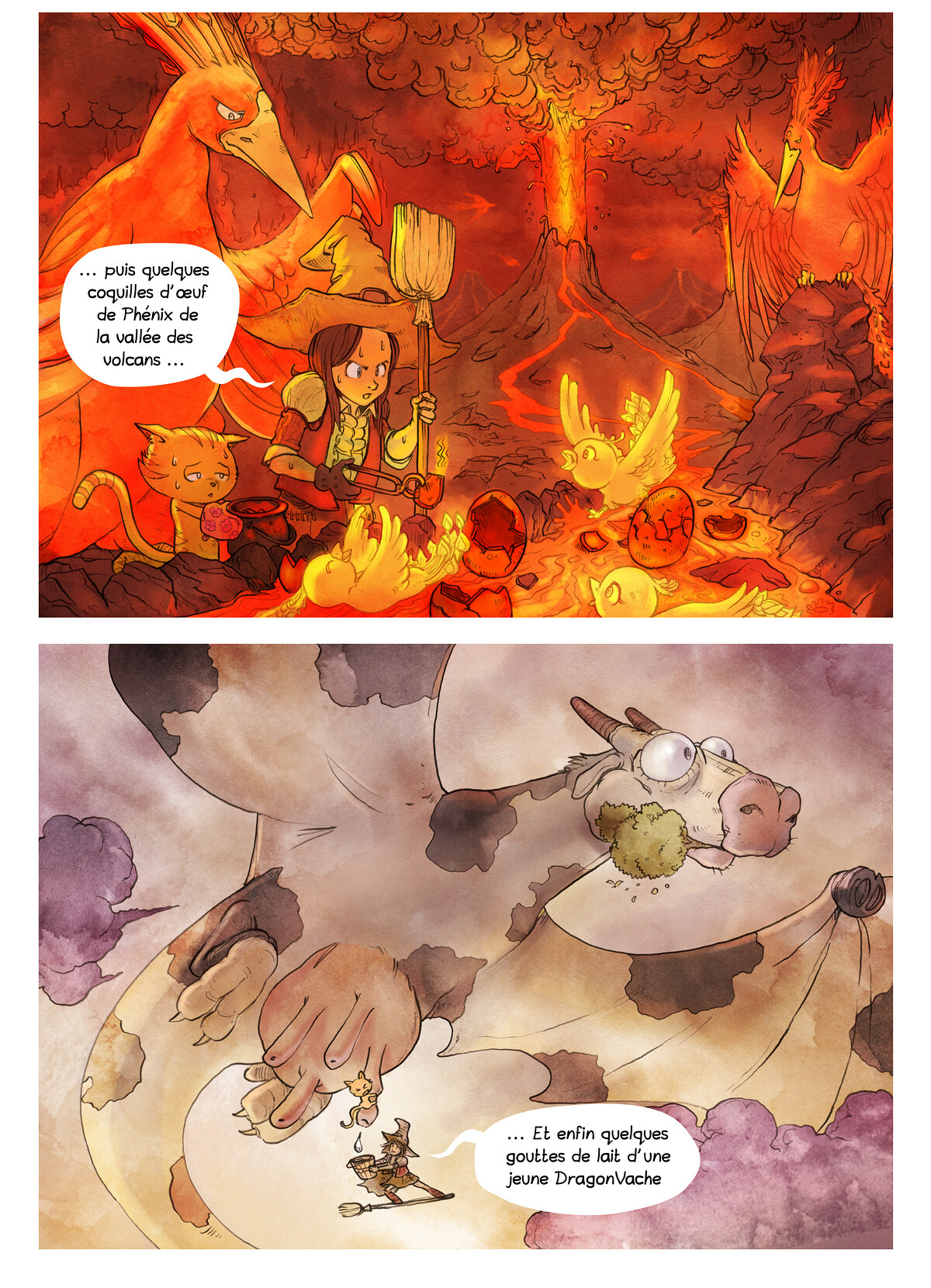 A webcomic page of Pepper&Carrot, épisode 3 [fr], page 6