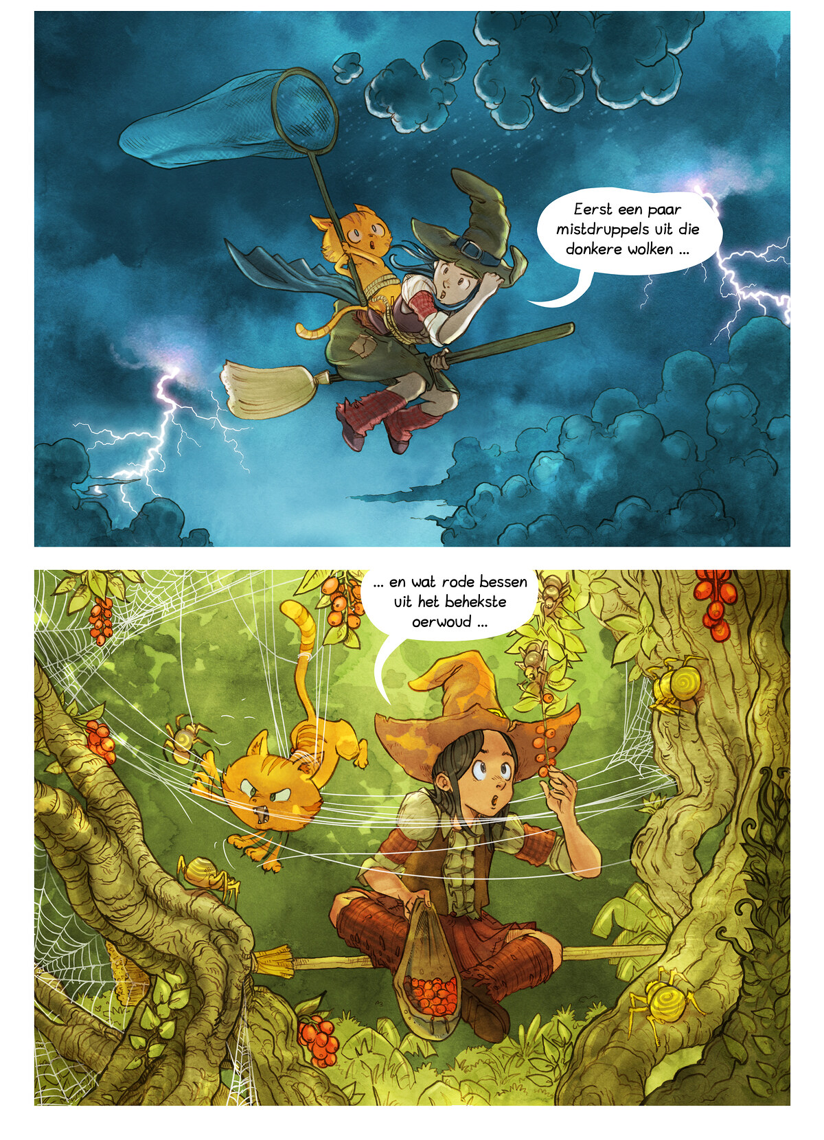 A webcomic page of Pepper&Carrot, aflevering 3 [nl], pagina 5