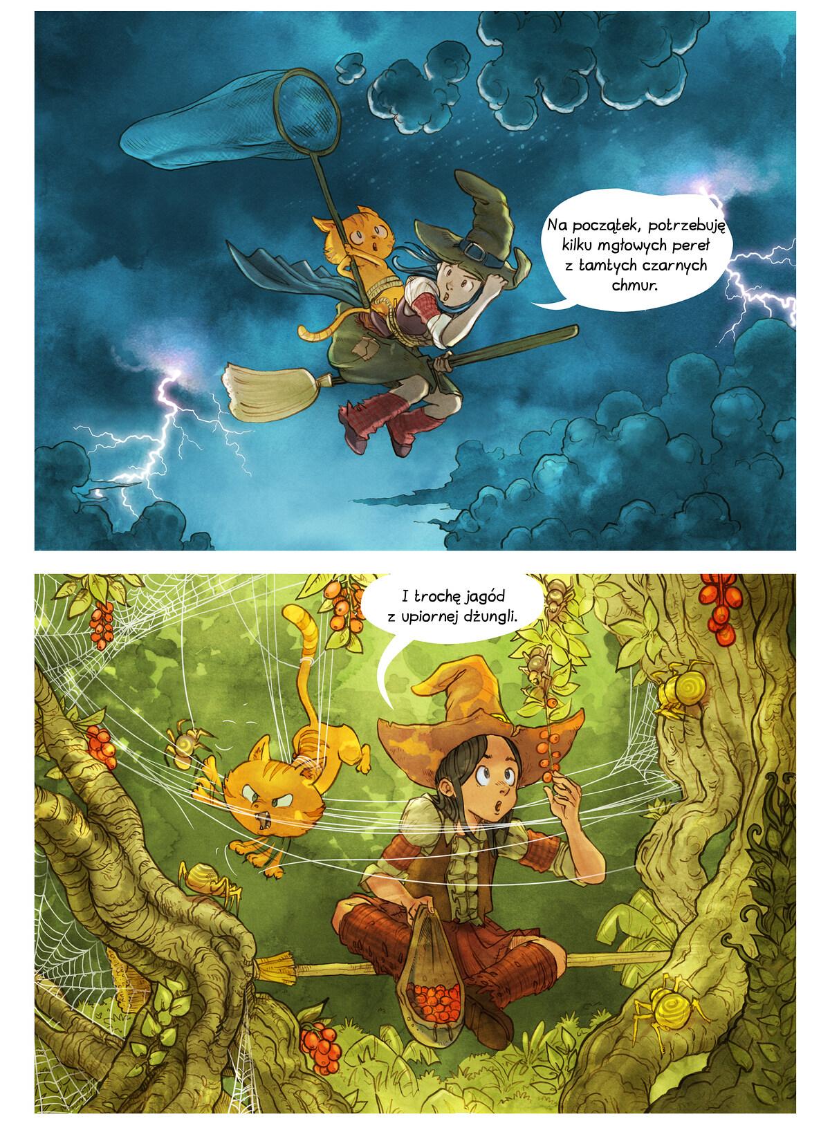 A webcomic page of Pepper&Carrot, odcinek 3 [pl], strona 5