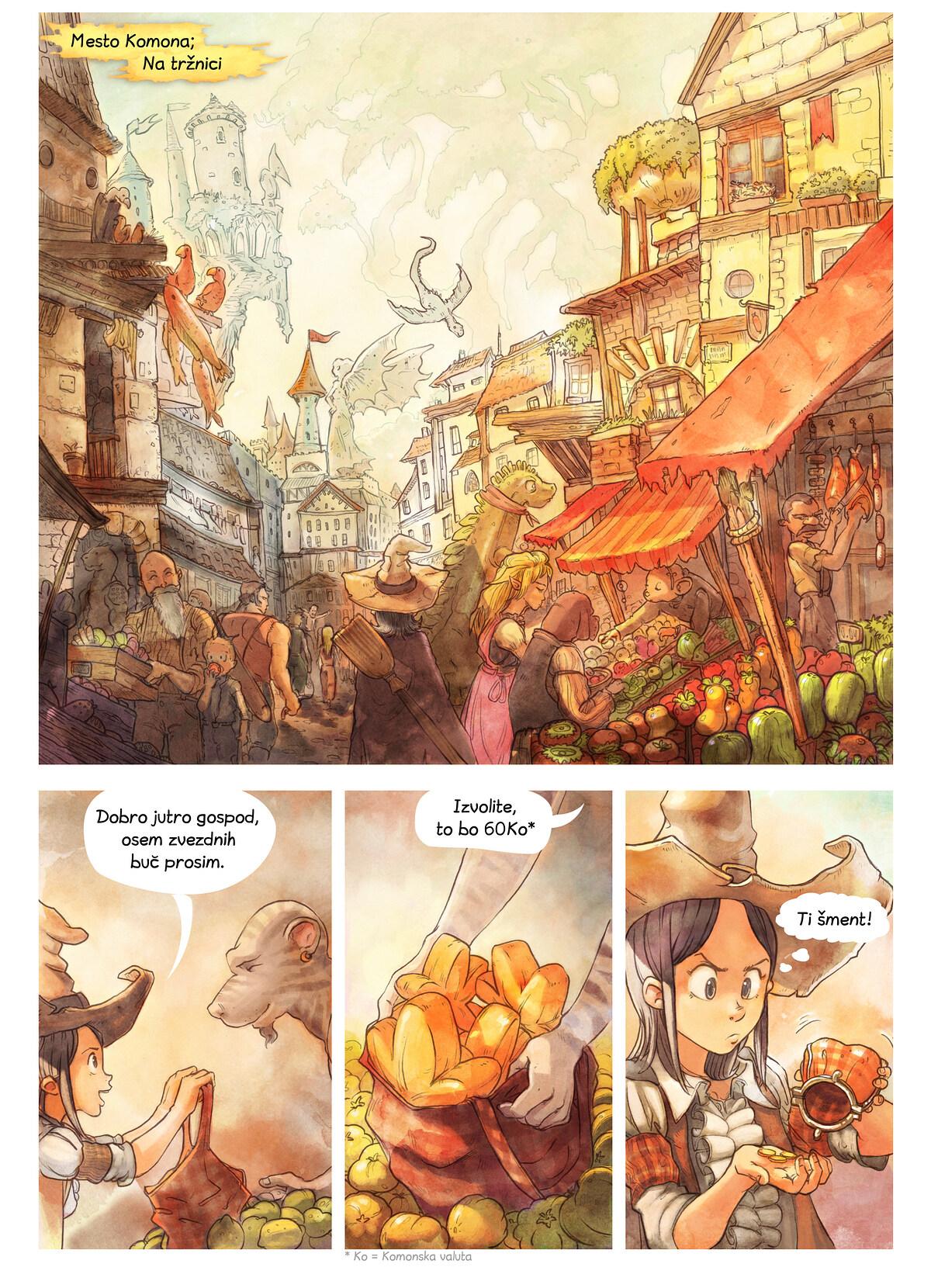Epizoda 3: Skrivne sestavine, Page 1