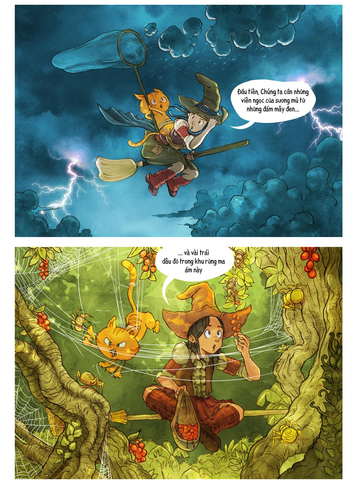 A webcomic page of Pepper&Carrot, Tập 3 [vi], trang 5