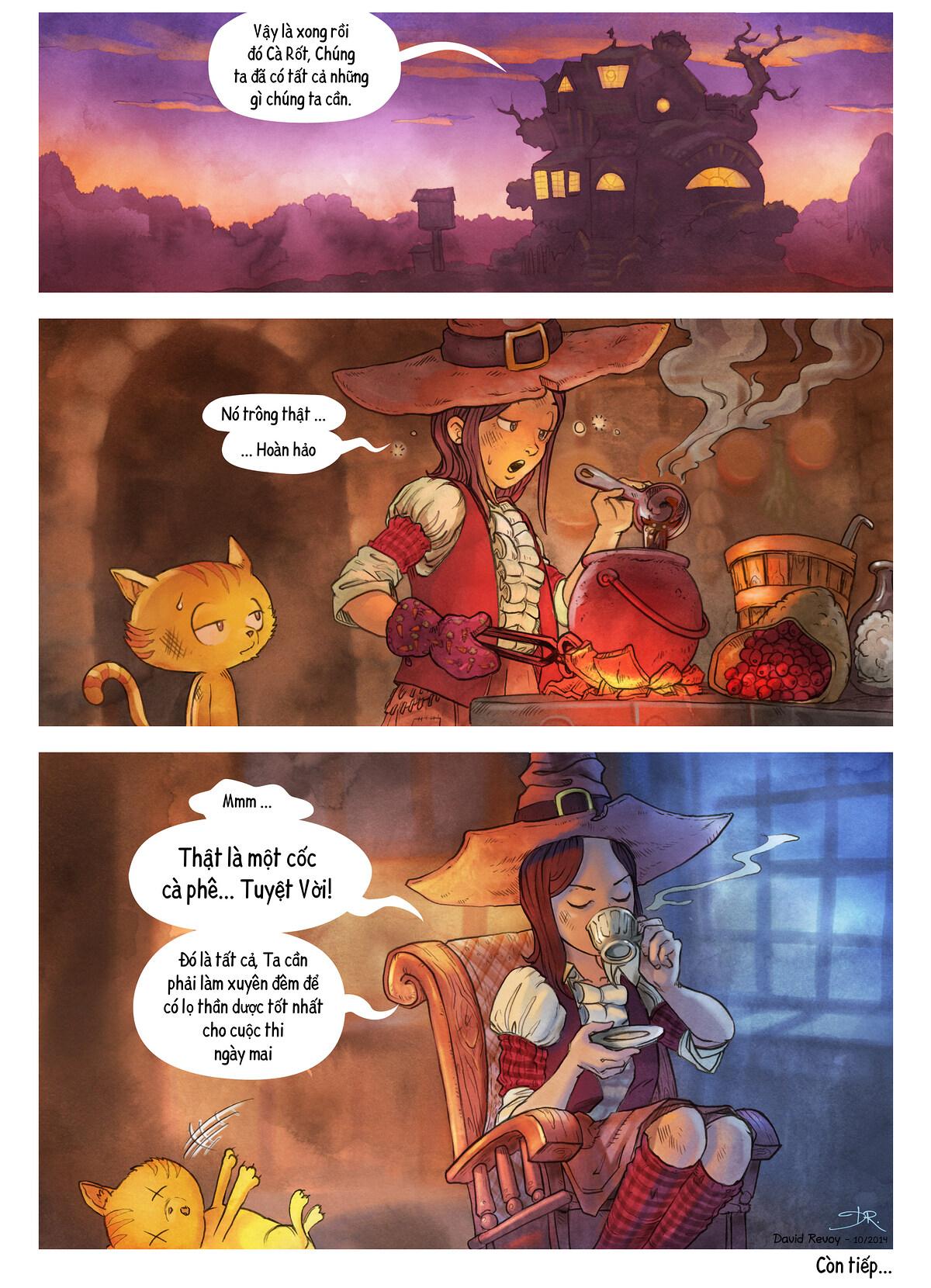 A webcomic page of Pepper&Carrot, Tập 3 [vi], trang 7