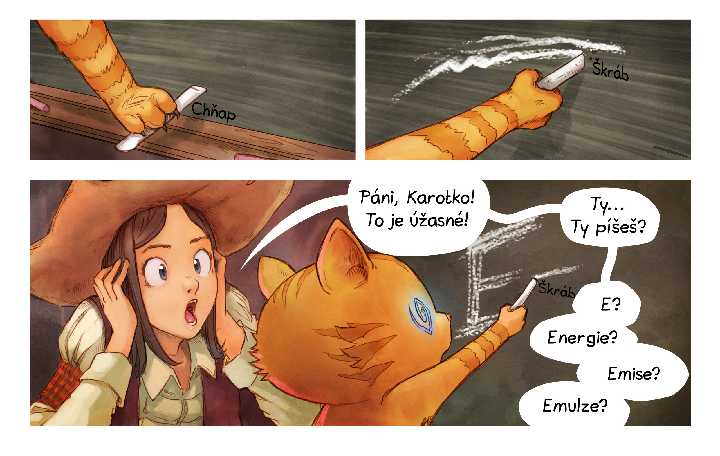 A webcomic page of Pepper&Carrot, epizoda 4 [cs], strana 6