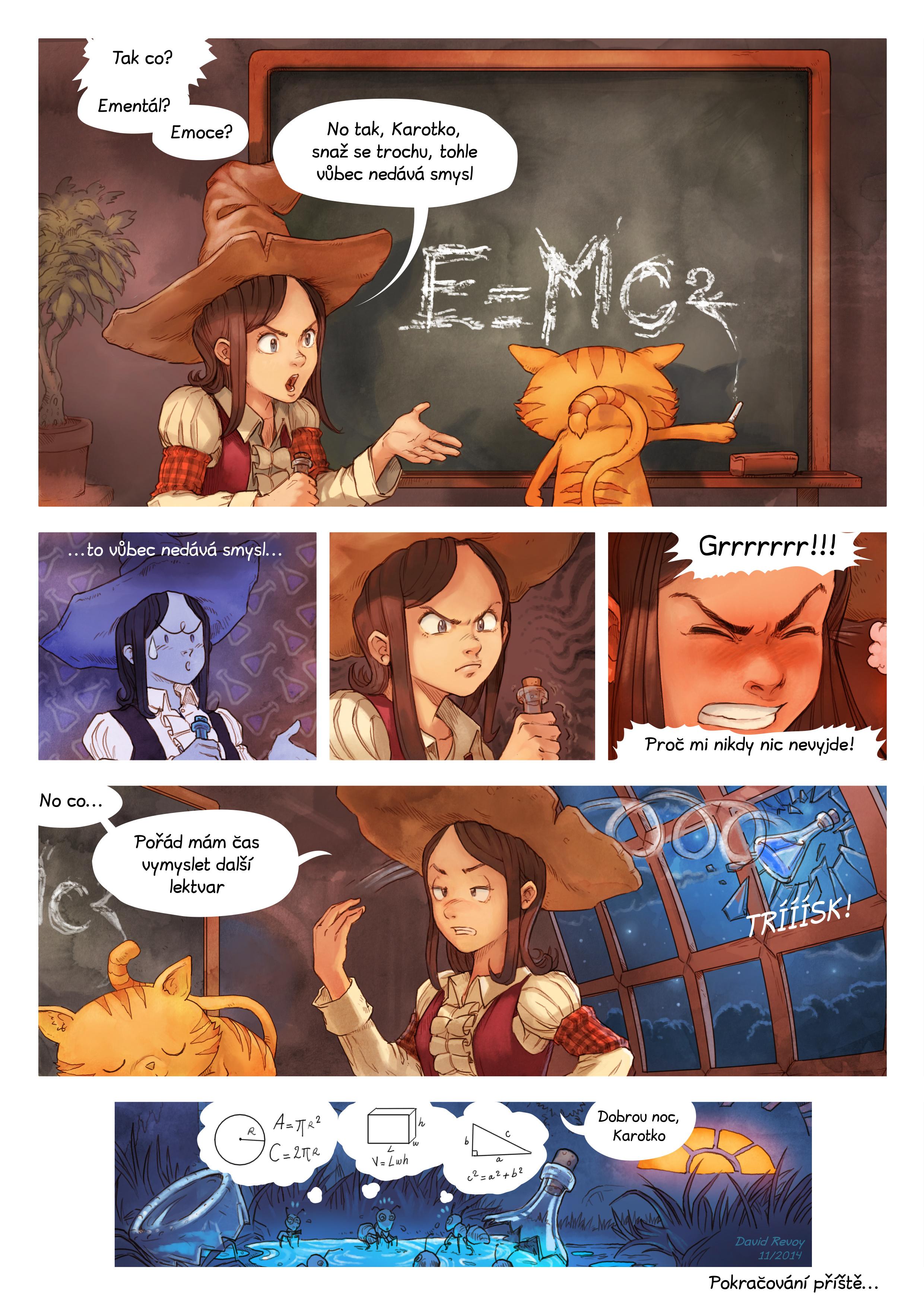A webcomic page of Pepper&Carrot, epizoda 4 [cs], strana 7