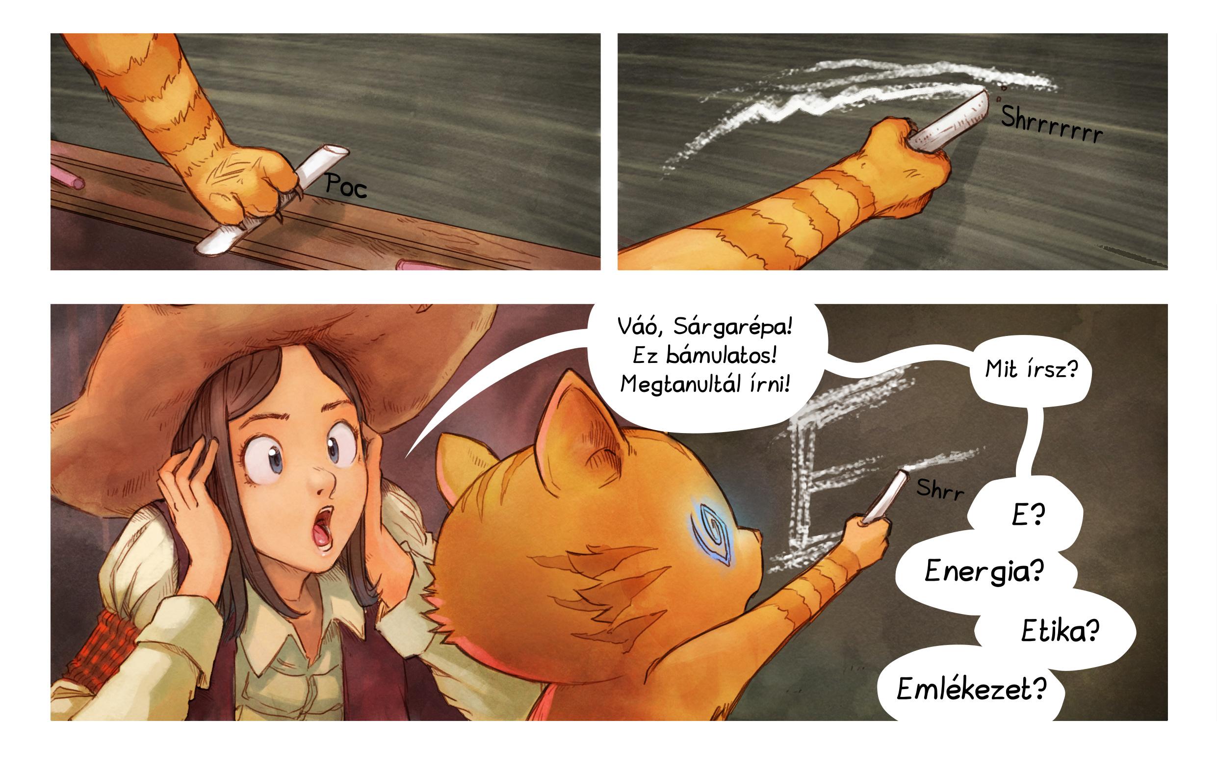 A webcomic page of Pepper&Carrot, epizód 4 [hu], oldal 6