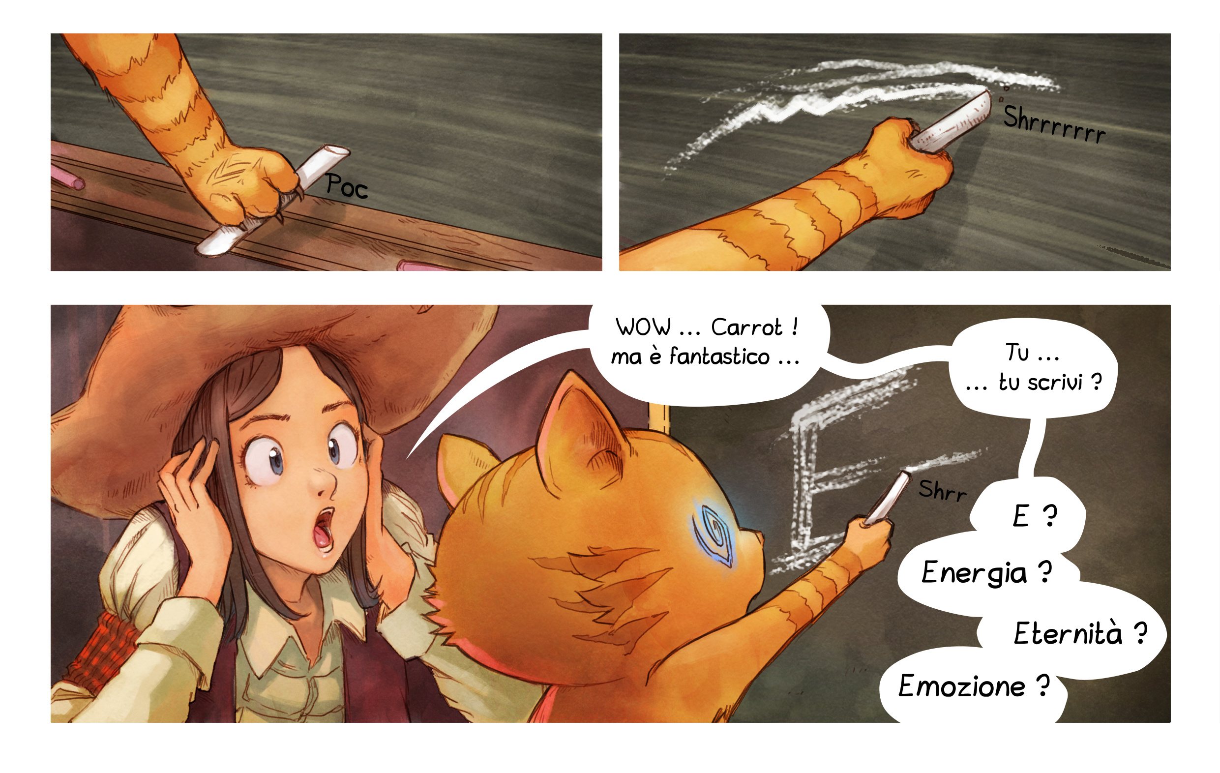 A webcomic page of Pepper&Carrot, episodio 4 [it], pagina 6
