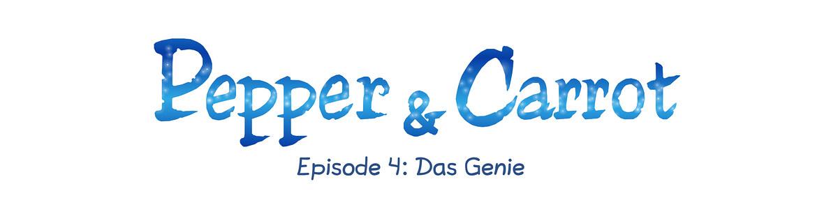 A webcomic page of Pepper&Carrot, Episode 4 [de], Seite 0