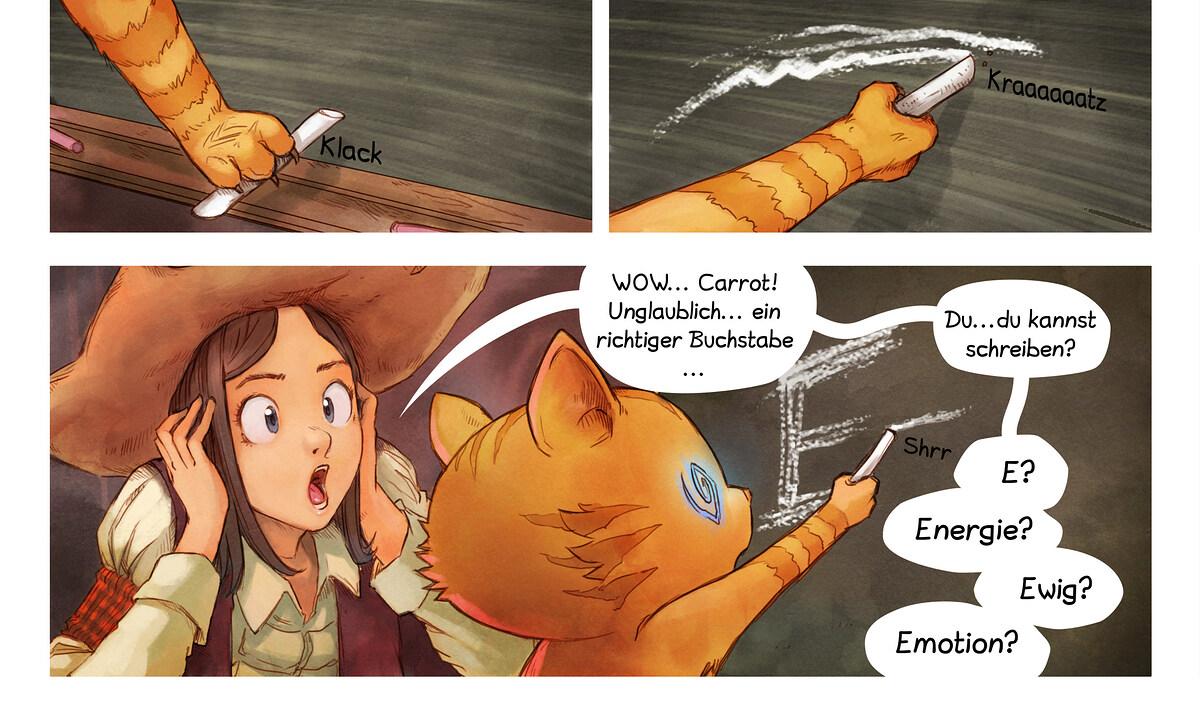 A webcomic page of Pepper&Carrot, Episode 4 [de], Seite 6