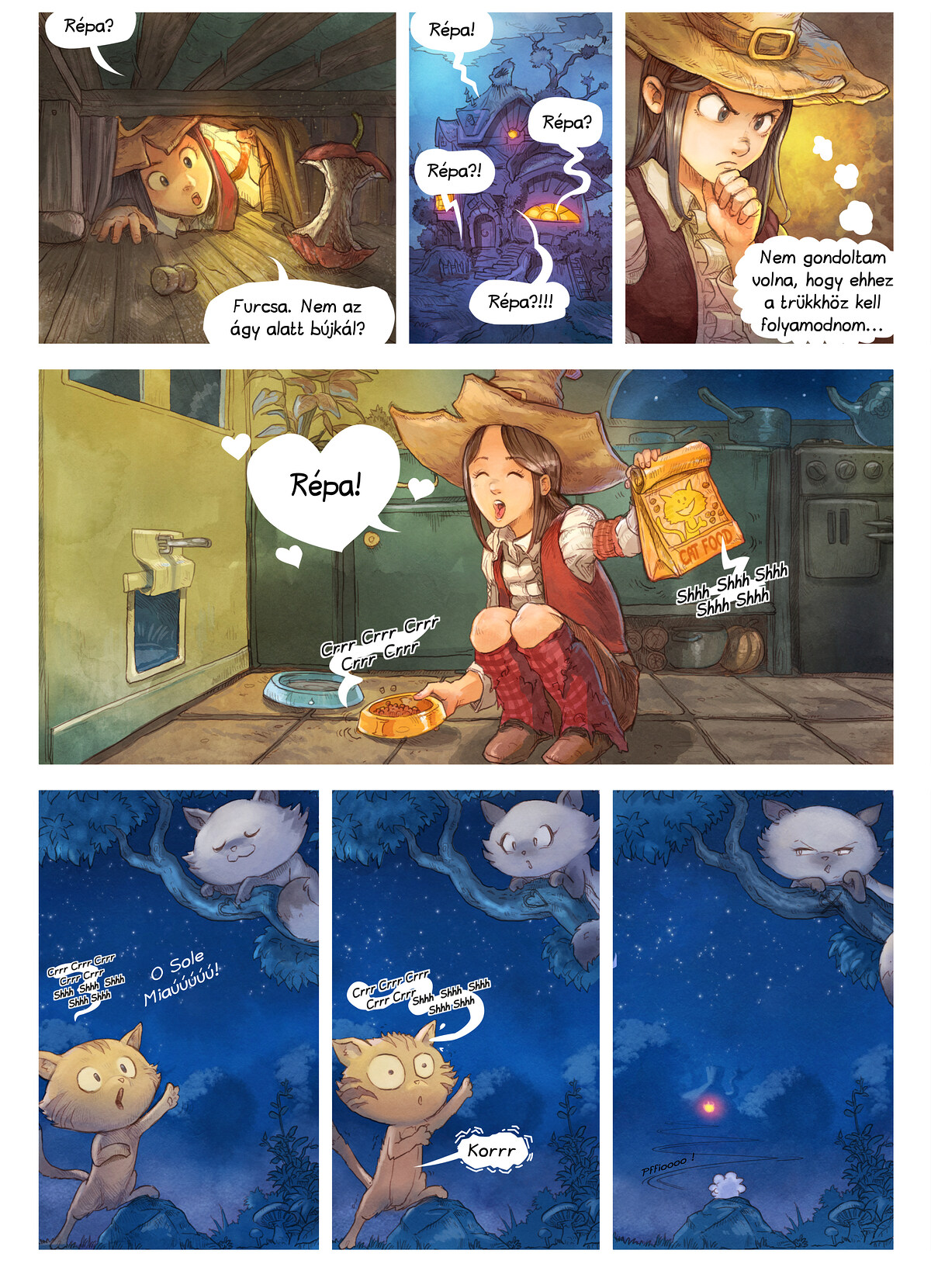 A webcomic page of Pepper&Carrot, epizód 2 , oldal 2