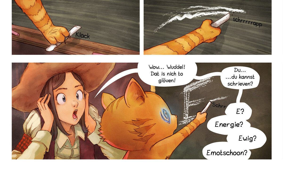 A webcomic page of Pepper&Carrot, Folg 4 [ns], Siet 6