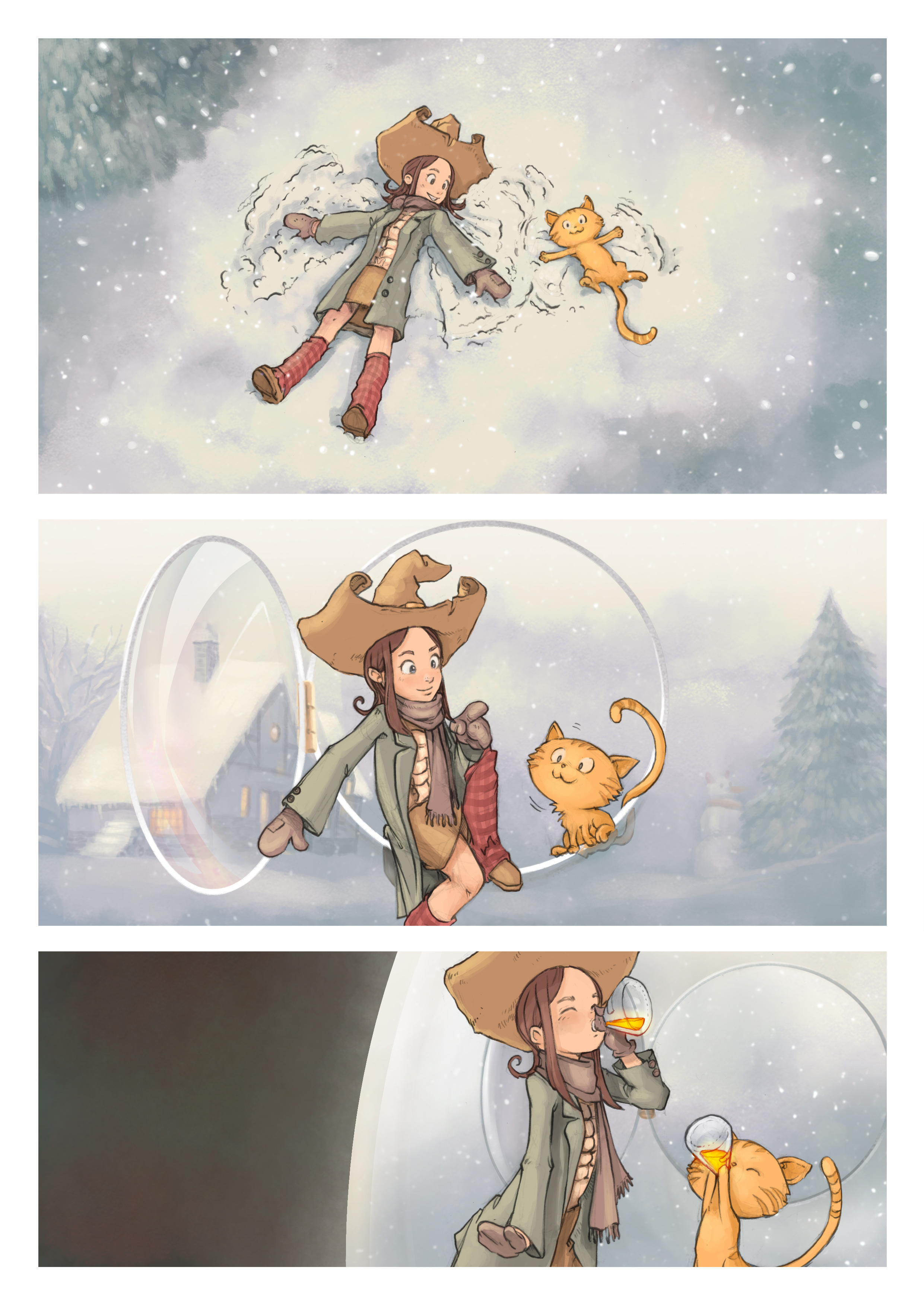A webcomic page of Pepper&Carrot, 漫画全集 5 [cn], 页面 2
