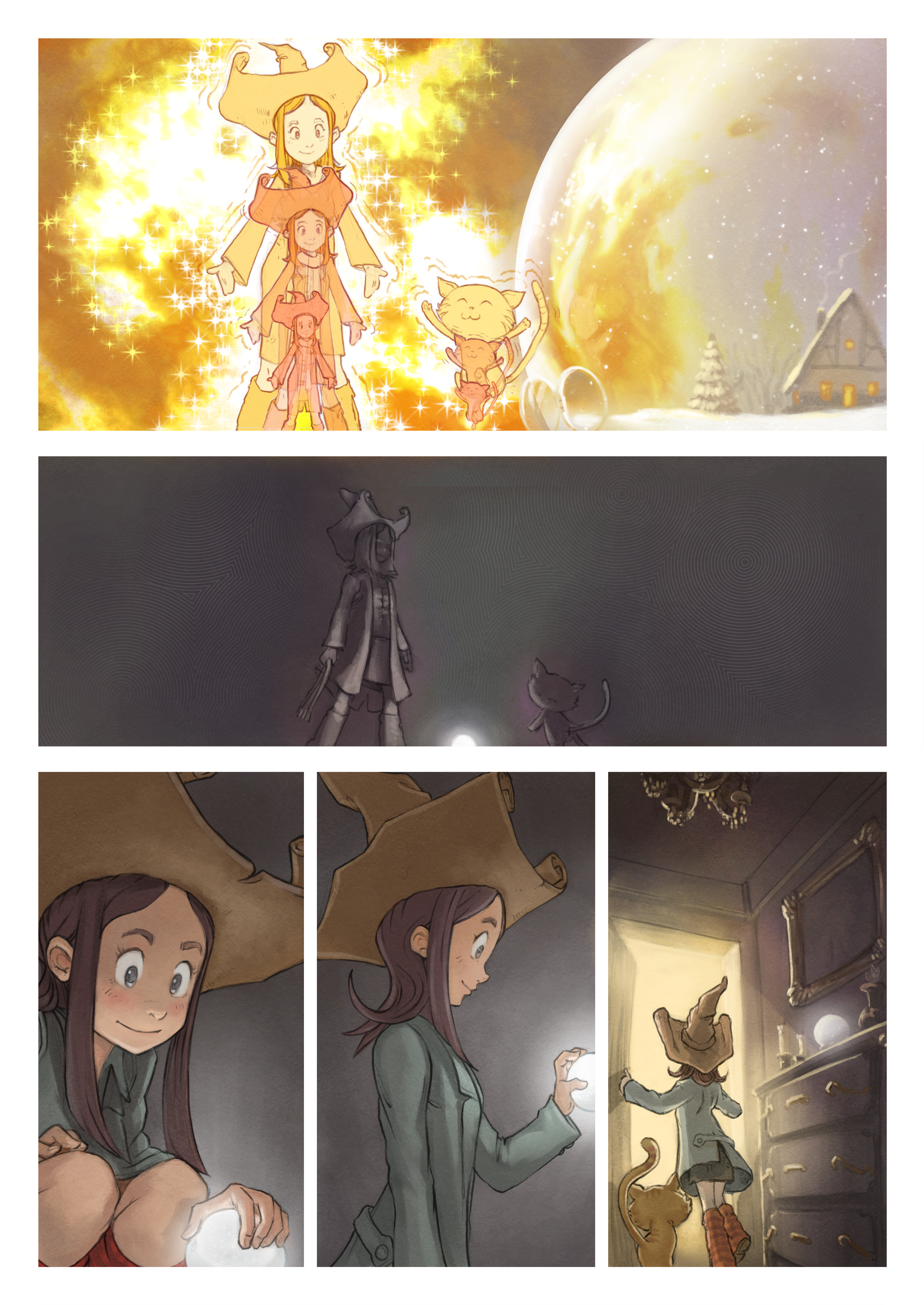 A webcomic page of Pepper&Carrot, 漫画全集 5 [cn], 页面 3