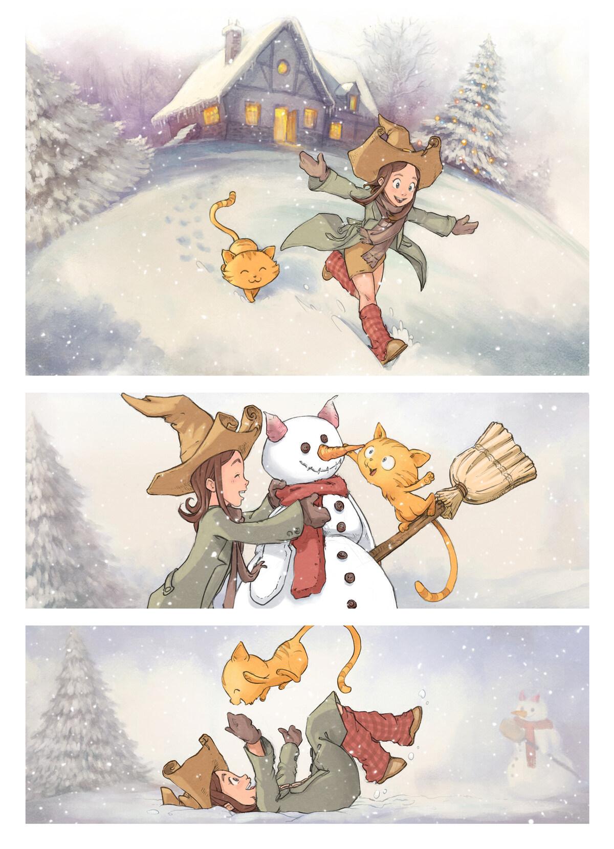 A webcomic page of Pepper&Carrot, のエピソード 5 [ja], ページ 1