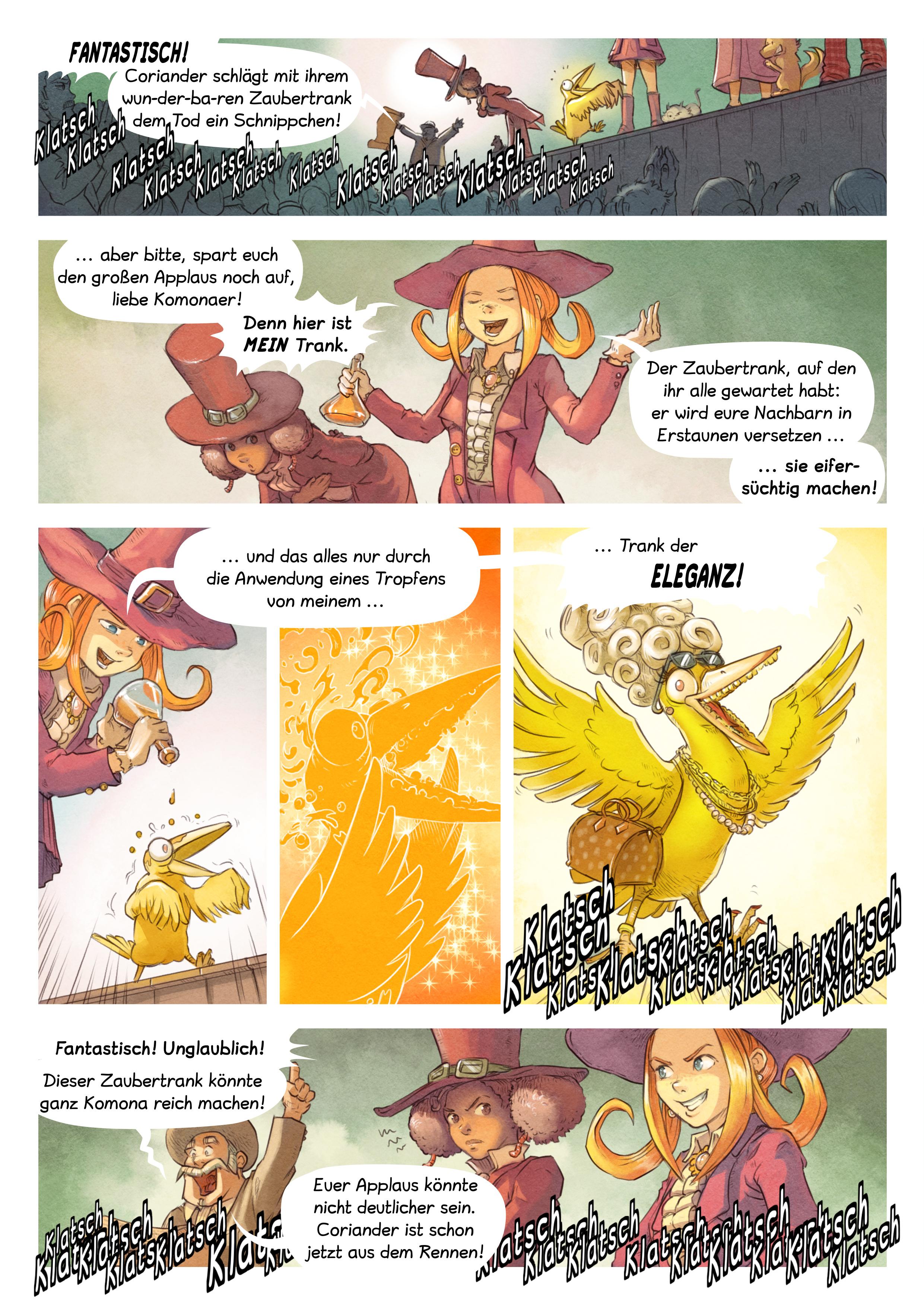A webcomic page of Pepper&Carrot, Episode 6 [de], Seite 5