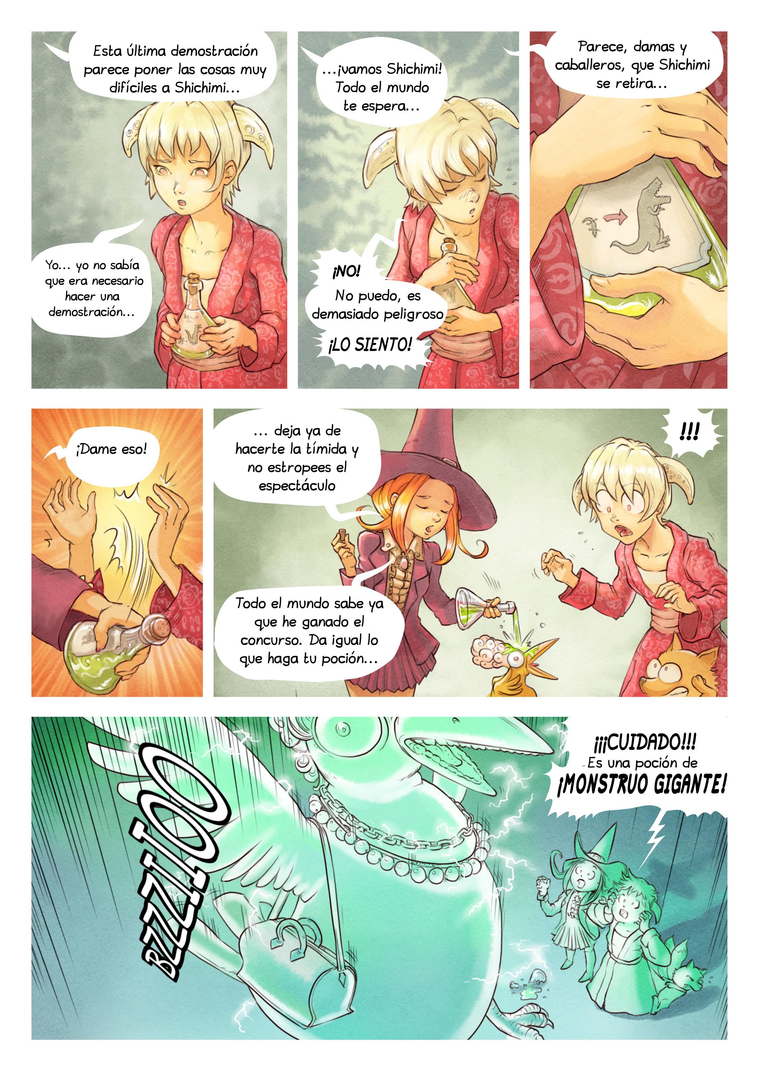 Episodio 6: El concurso de pociones, Page 6