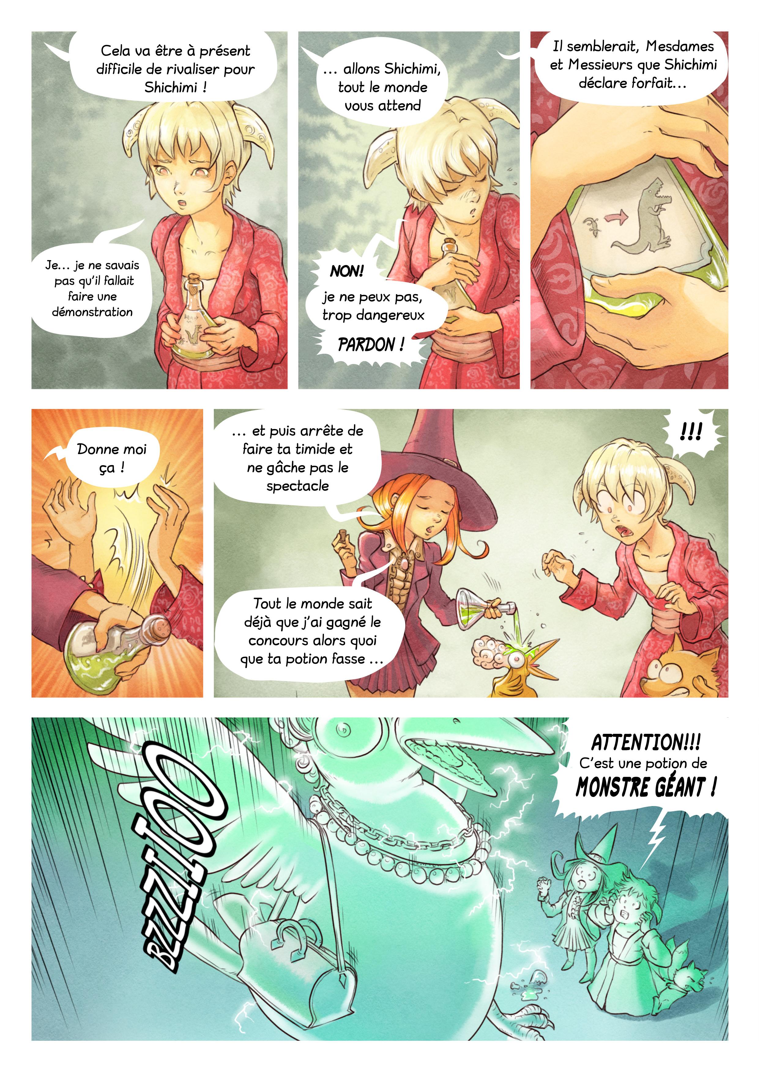 A webcomic page of Pepper&Carrot, épisode 6 [fr], page 6