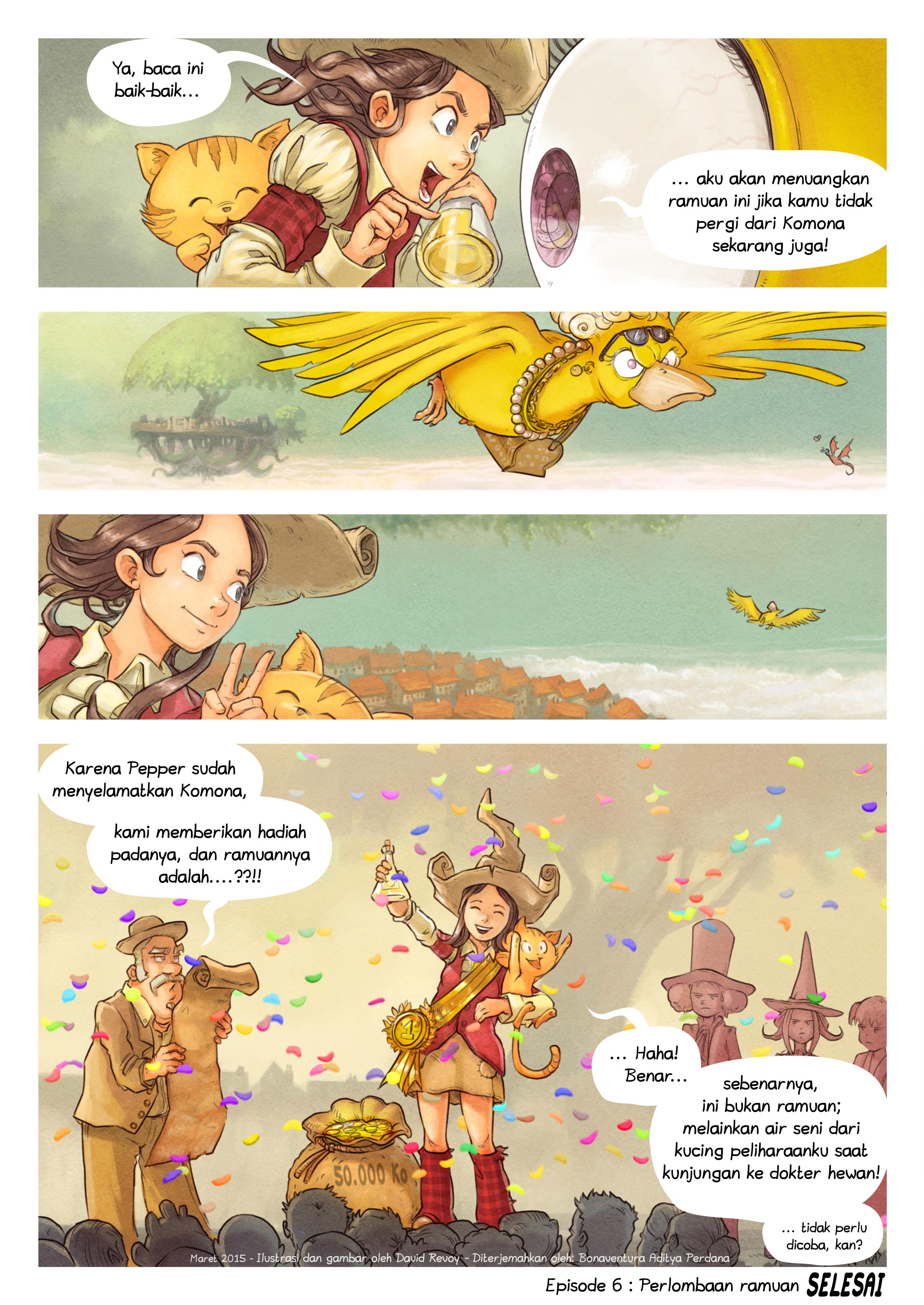 Episode 6: Perlombaan ramuan, Page 9