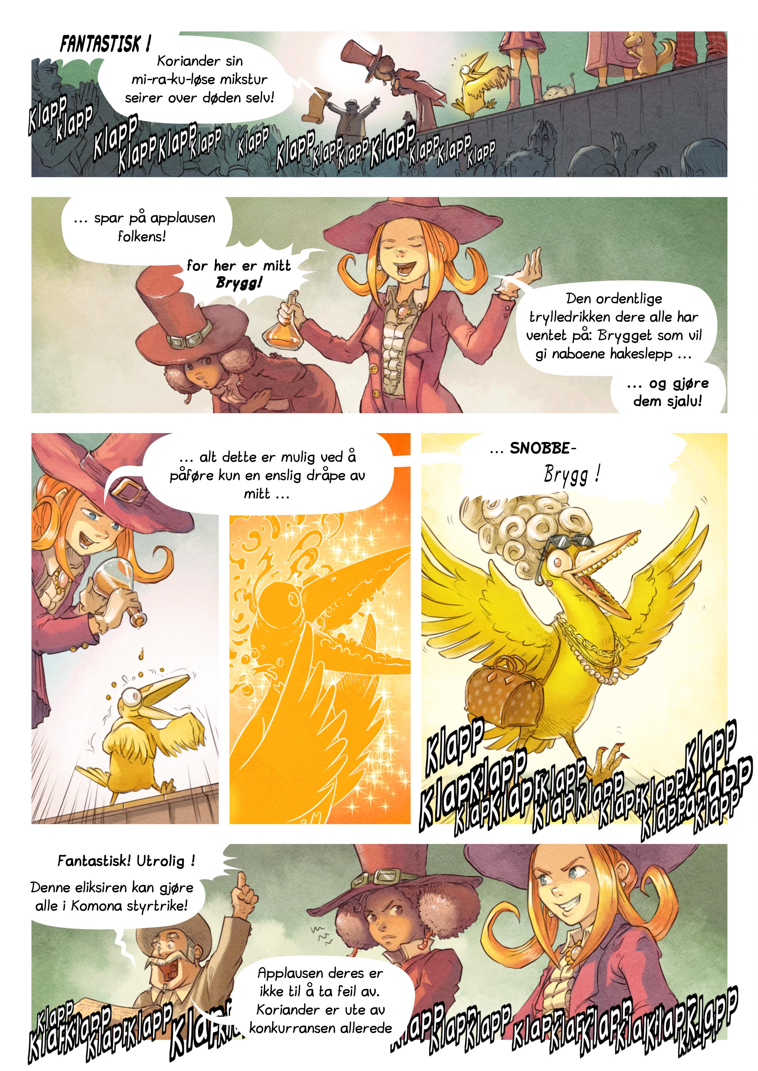 Episode 6: Trylledrikk-konkurransen, Page 5