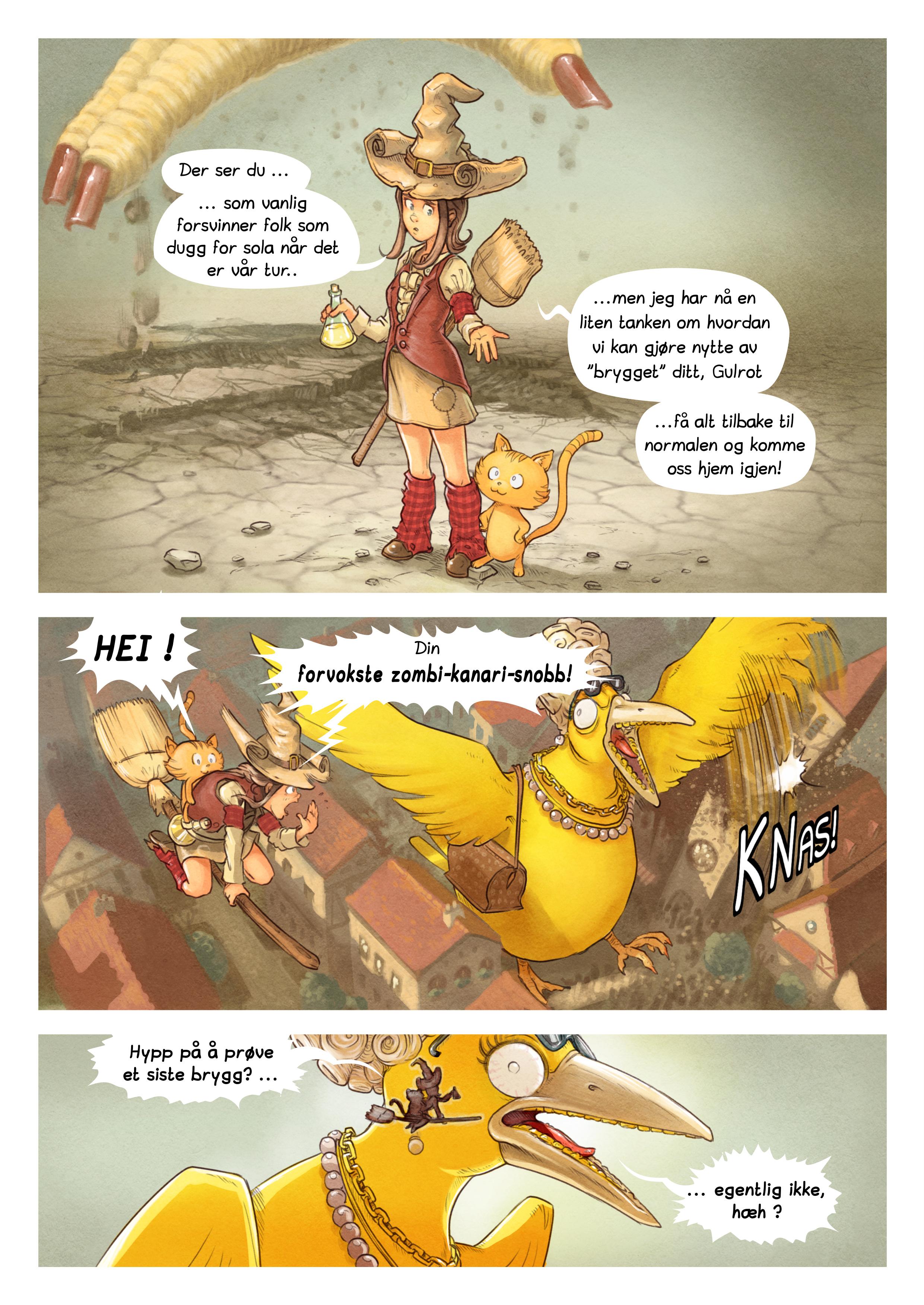 Episode 6: Trylledrikk-konkurransen, Page 8