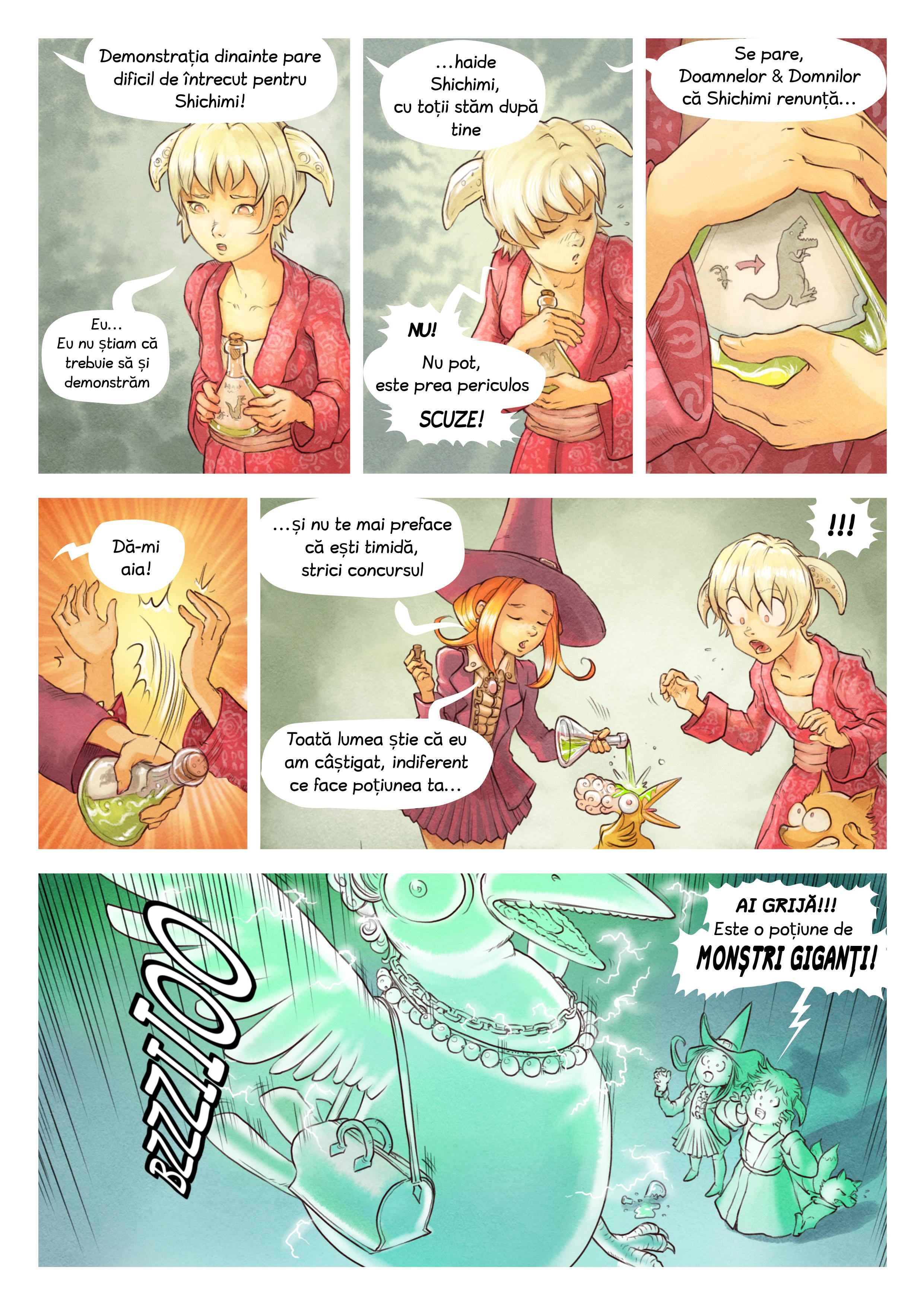 Episodul 6: Concursul Poțiunilor, Page 6