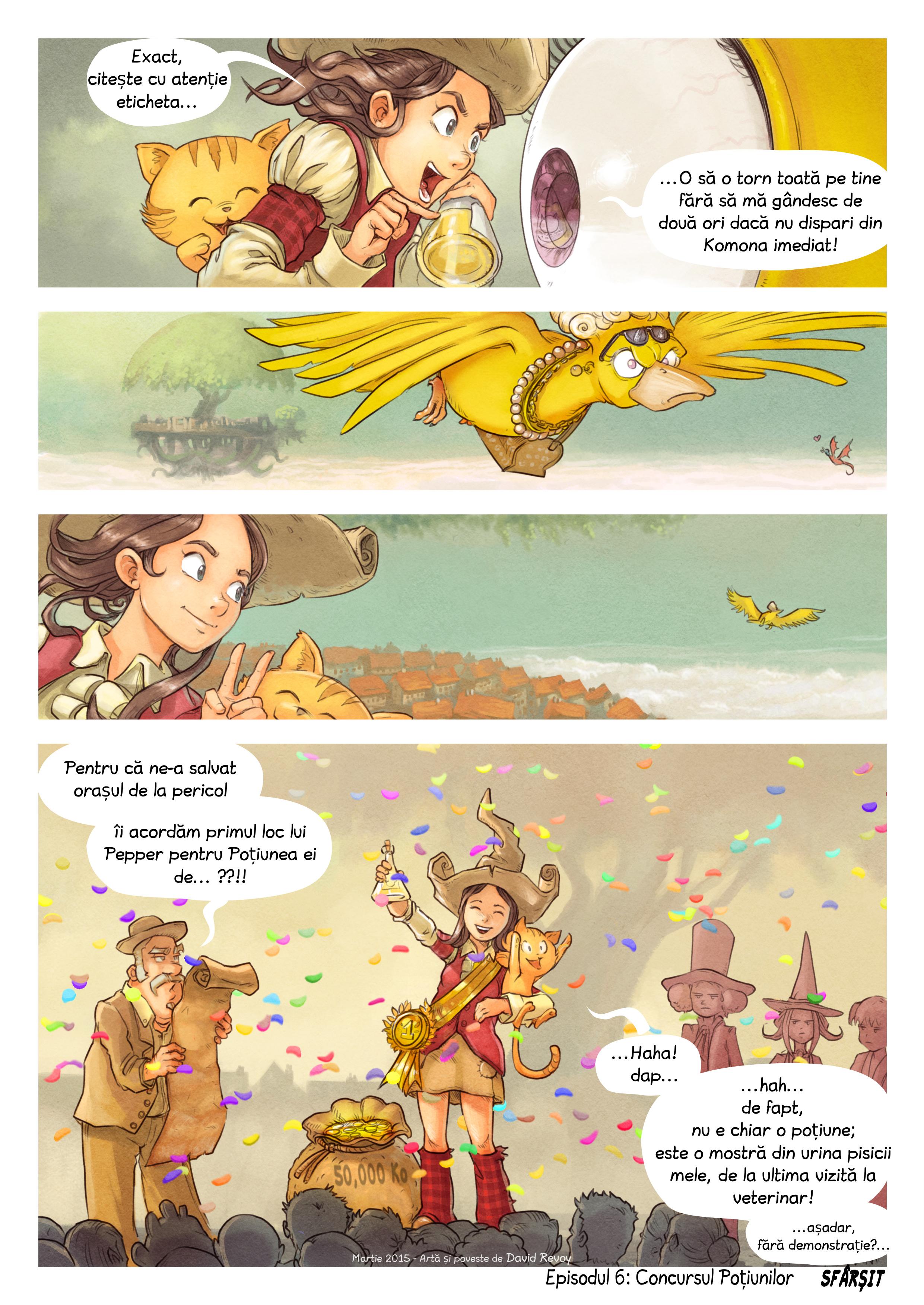 Episodul 6: Concursul Poțiunilor, Page 9