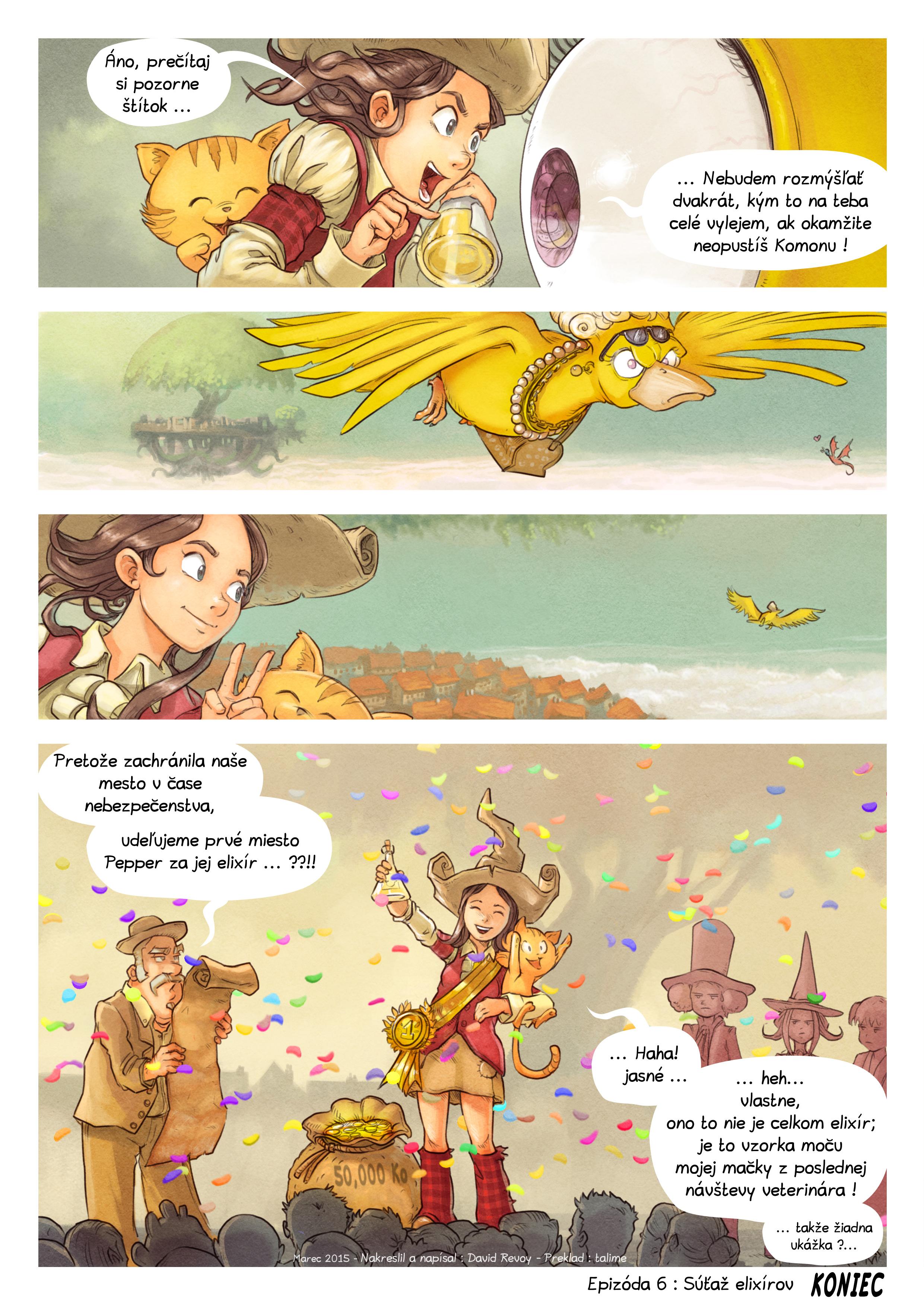 Epizóda 6: Súťaž elixírov, Page 9
