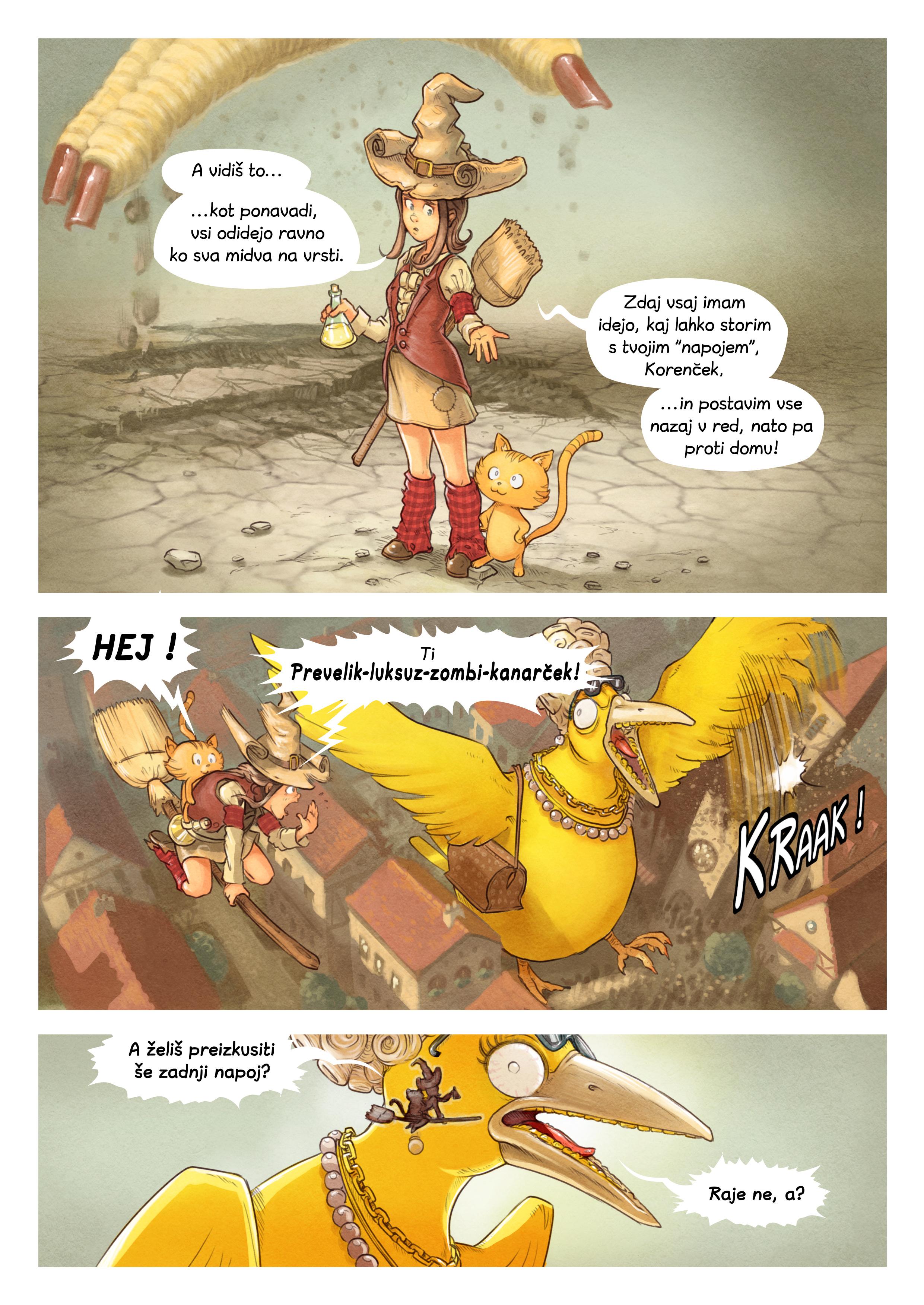 Epizoda 6: Tekmovanje v napojih, Page 8