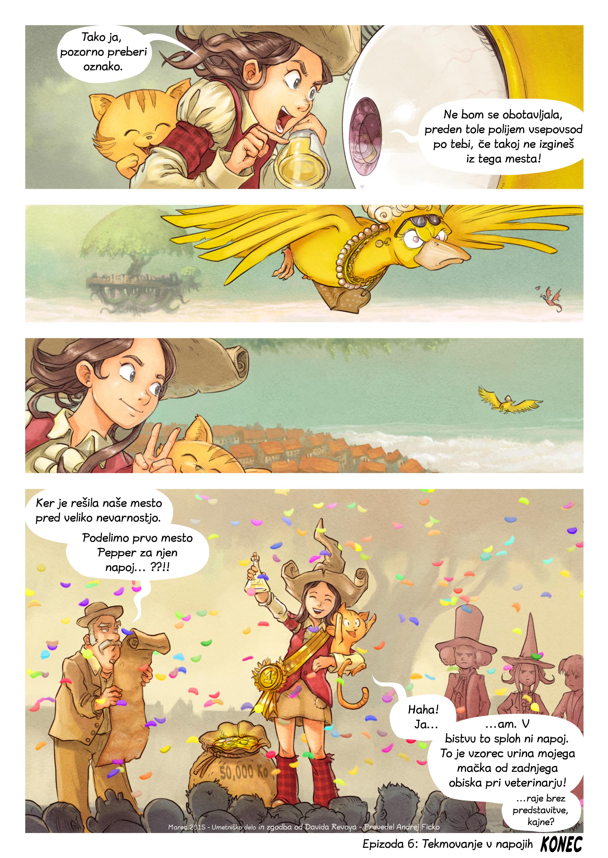 Epizoda 6: Tekmovanje v napojih, Page 9