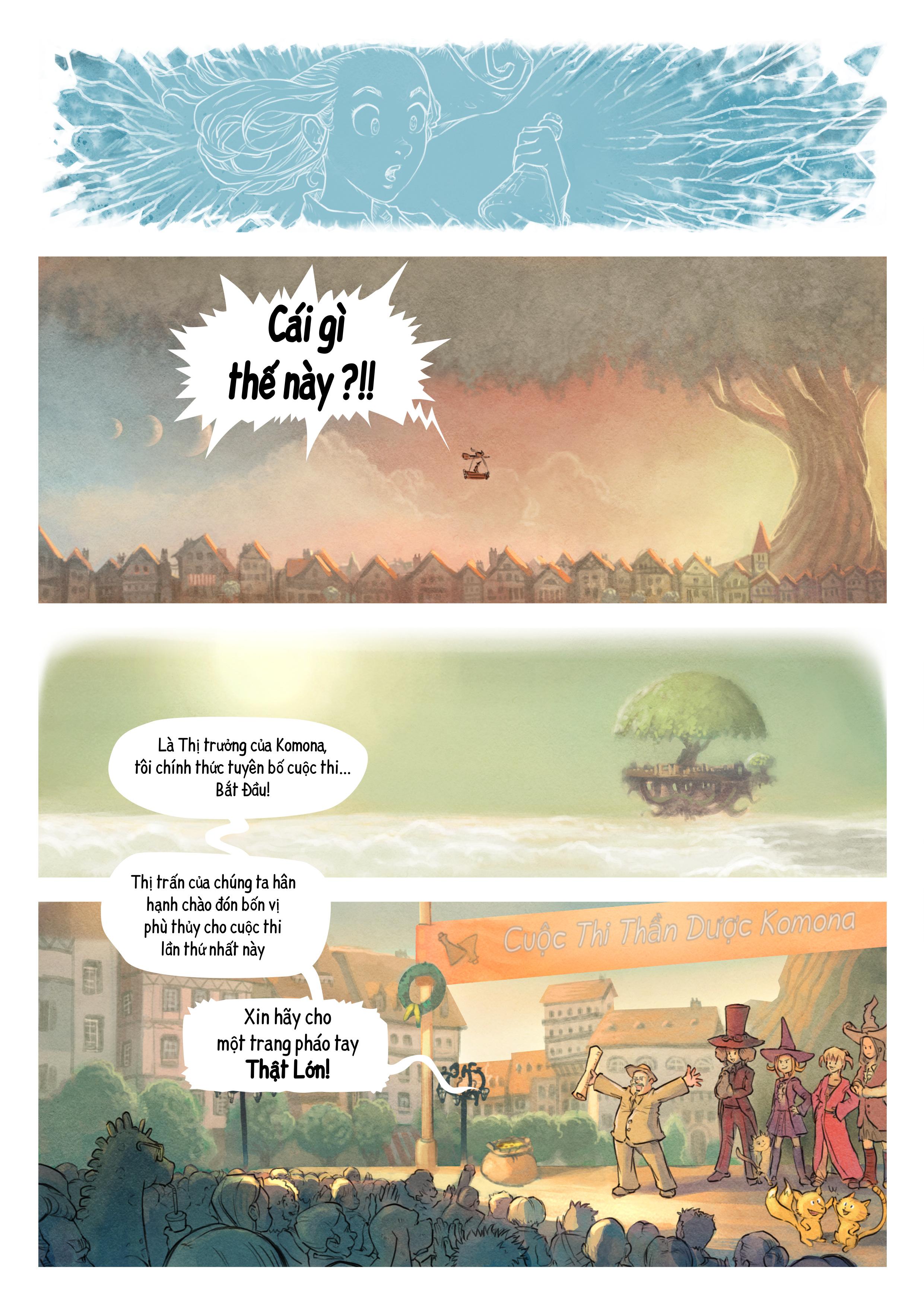 Tập 6: Cuộc Thi Thần Dược, Trang 3