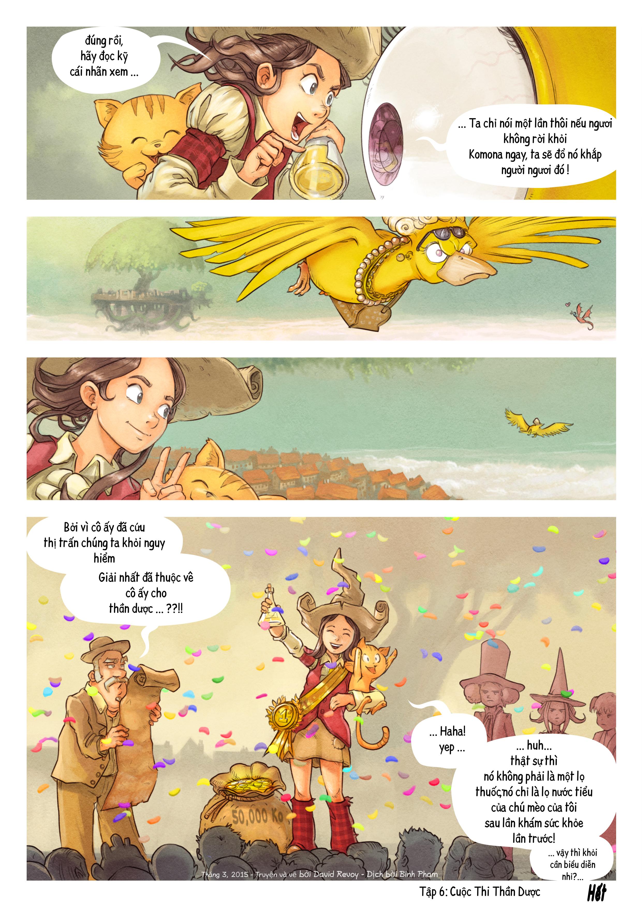 Tập 6: Cuộc Thi Thần Dược, Trang 9